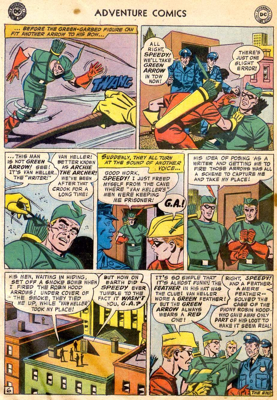 Read online Adventure Comics (1938) comic -  Issue #242 - 32