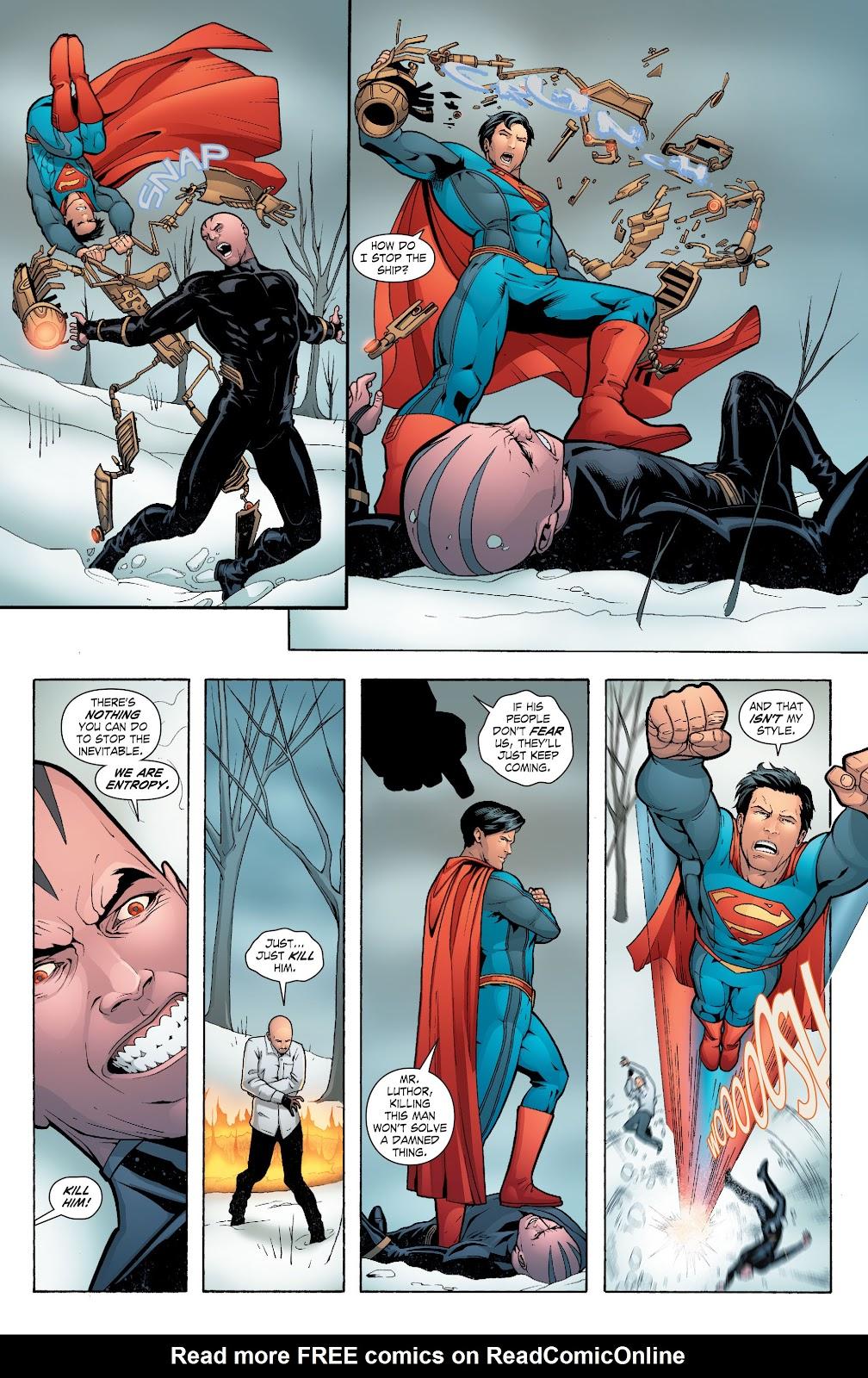 Read online Smallville Season 11 [II] comic -  Issue # TPB 6 - 161