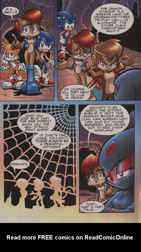 Read online Sonic Universe comic -  Issue #13 - 17