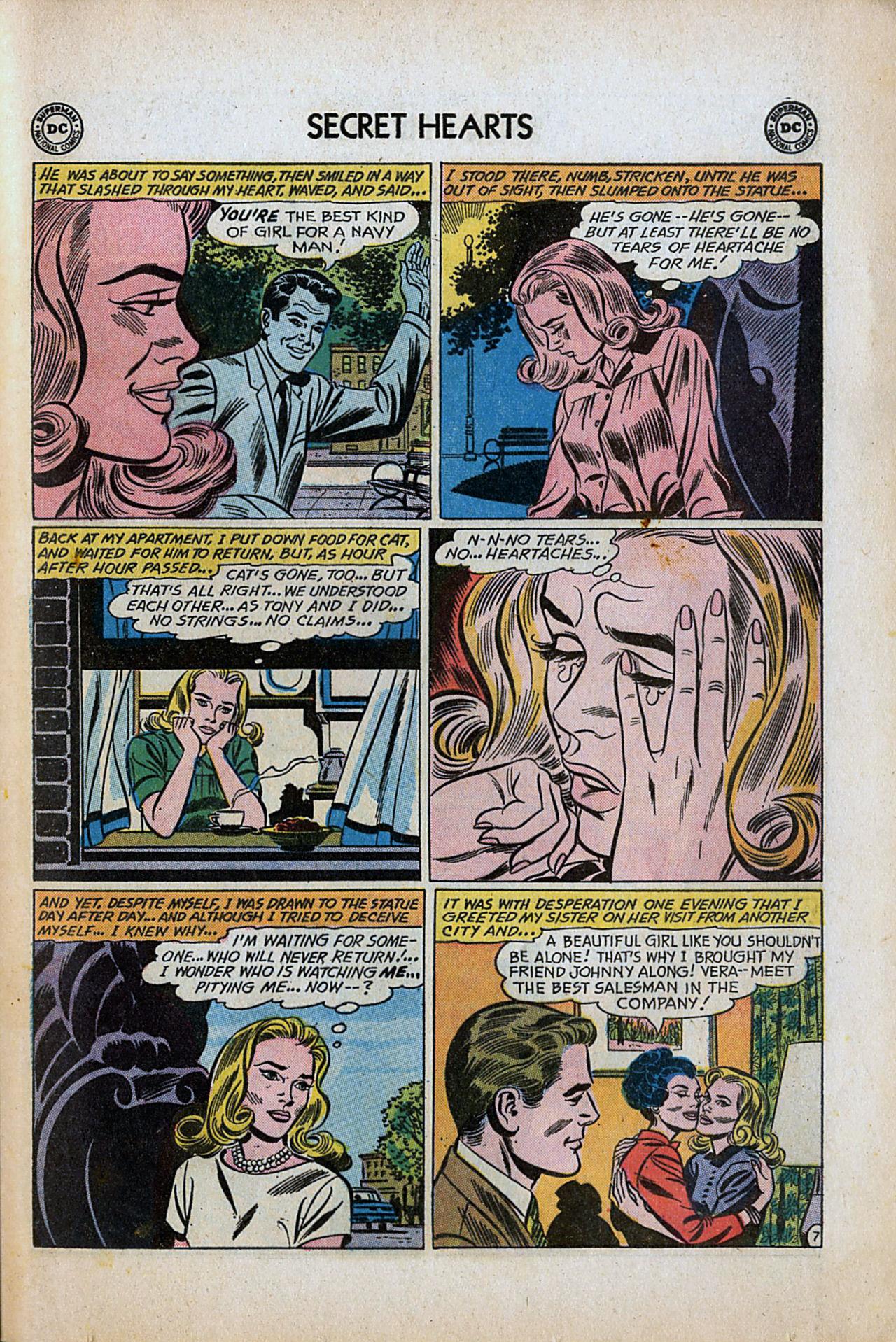 Read online Secret Hearts comic -  Issue #80 - 33