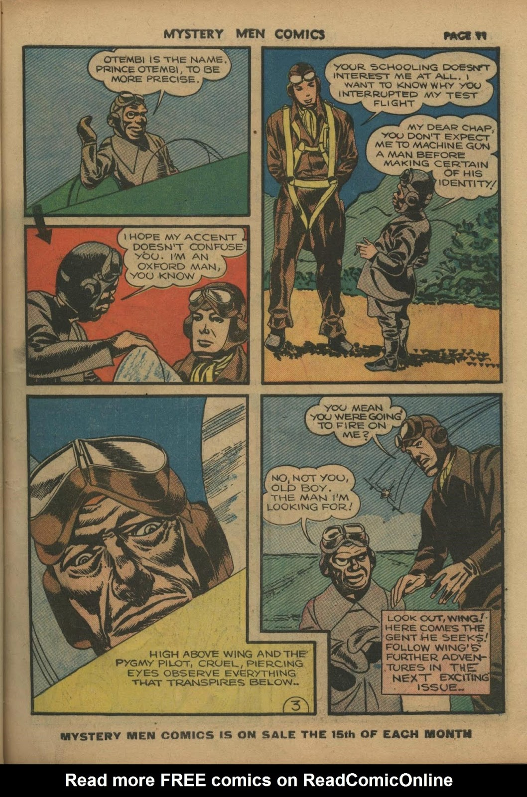 Mystery Men Comics issue 10 - Page 13