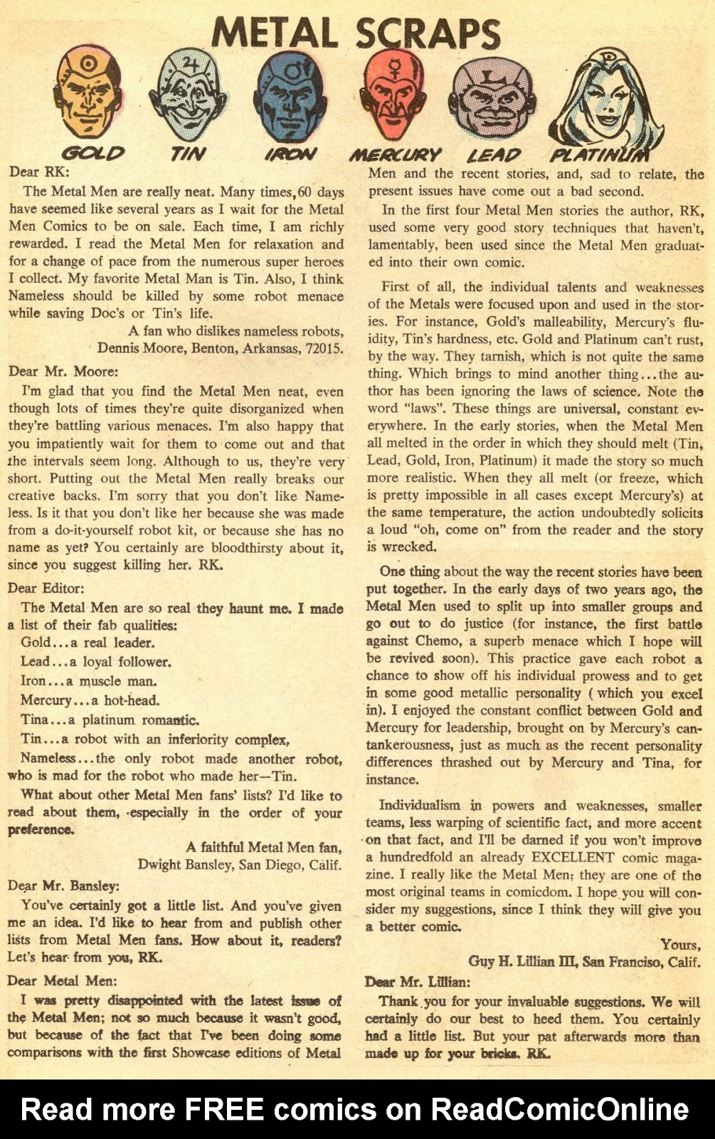 Metal Men (1963) issue 30 - Page 22