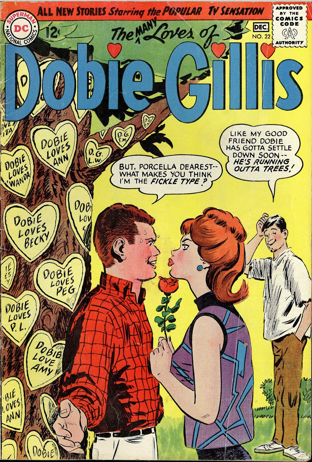 Many Loves of Dobie Gillis 22 Page 1
