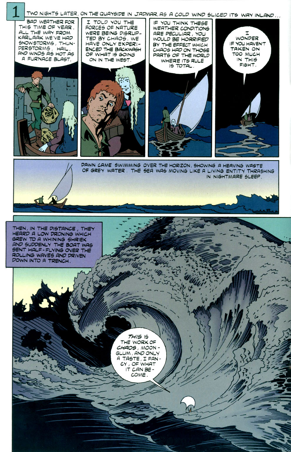 Read online Elric: Stormbringer comic -  Issue #3 - 4