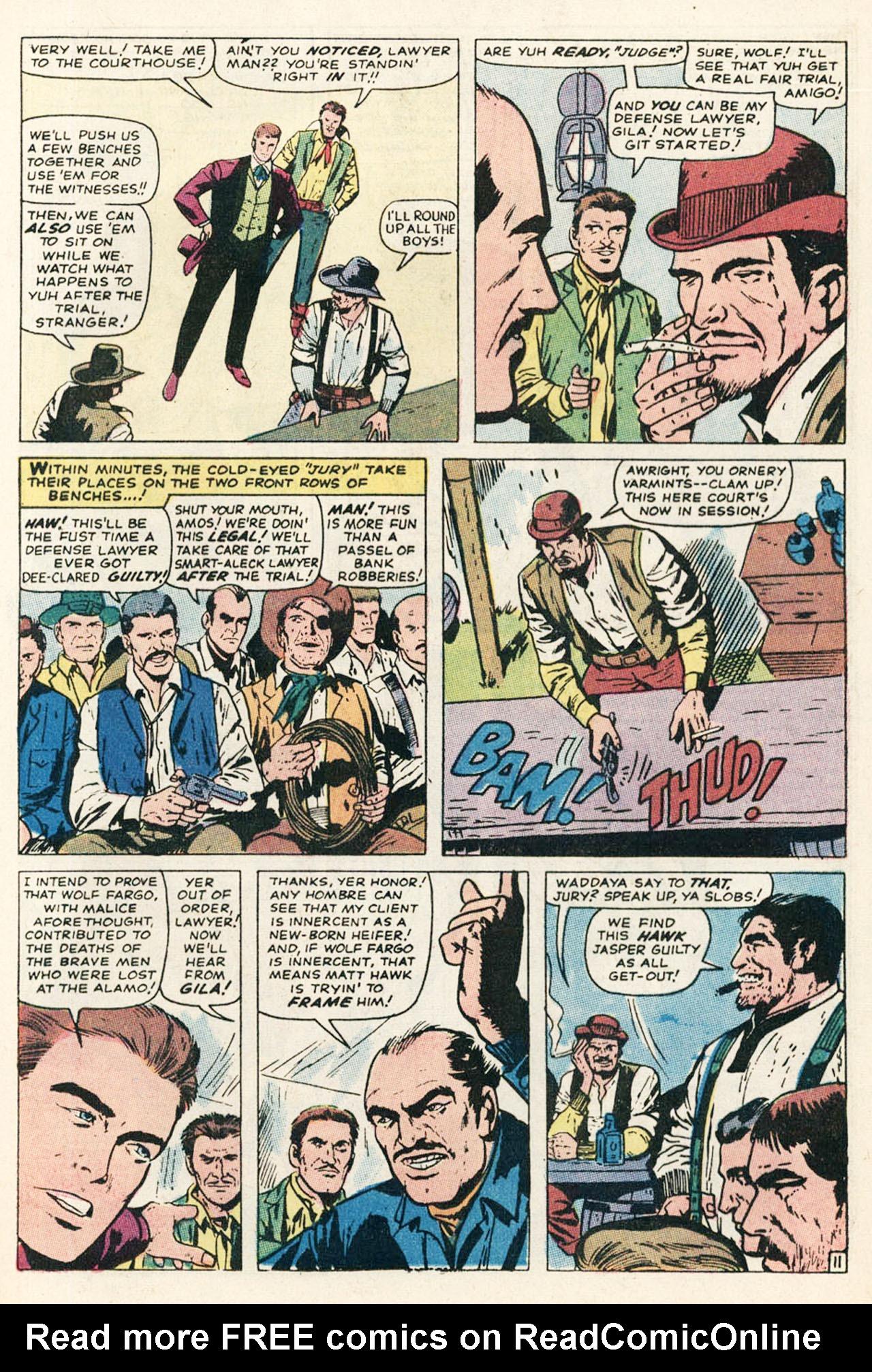 Read online Two-Gun Kid comic -  Issue #95 - 17