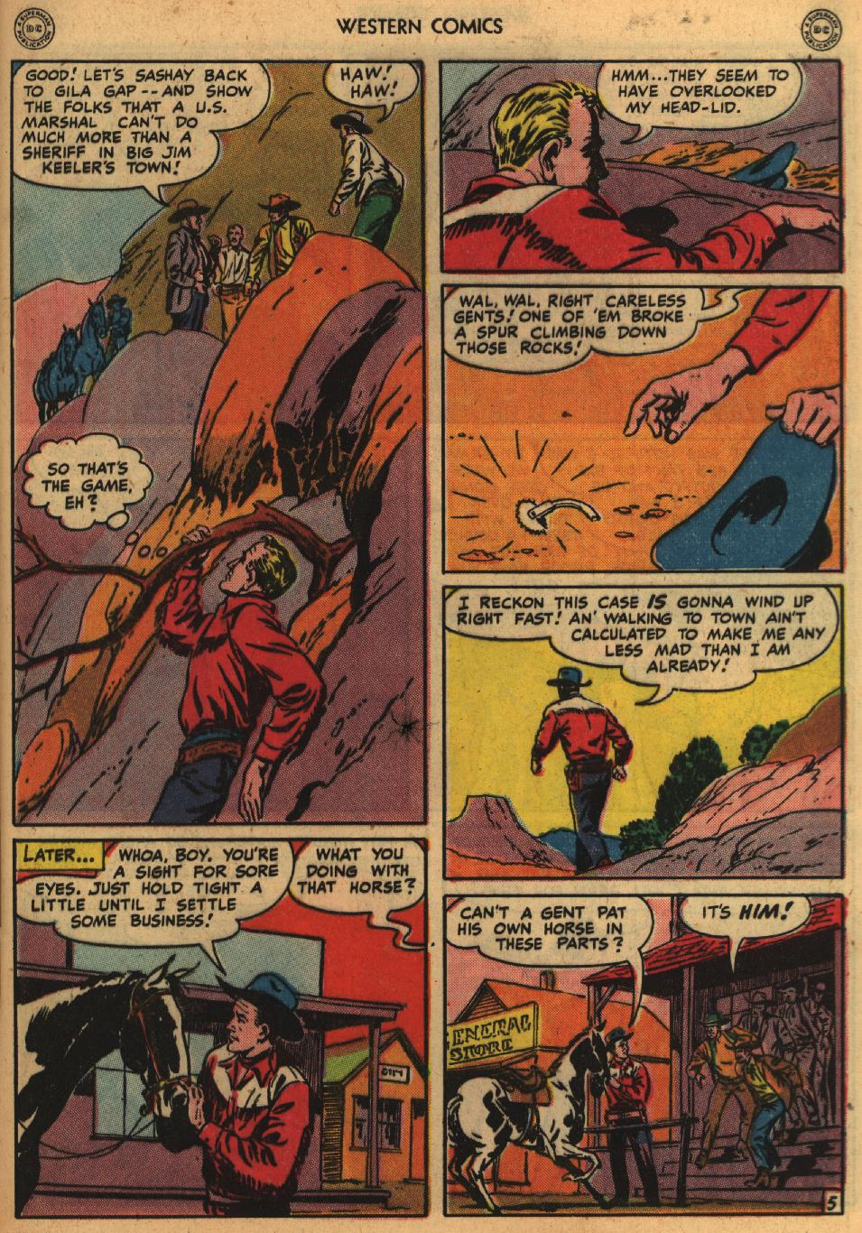 Western Comics issue 1 - Page 7
