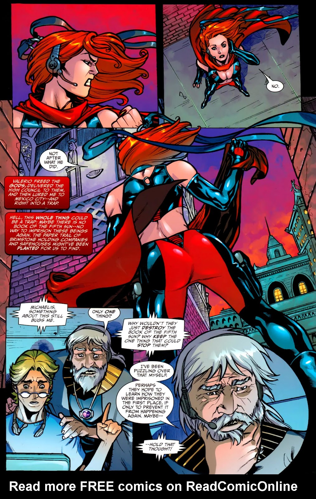BloodRayne: Automaton issue Full - Page 7