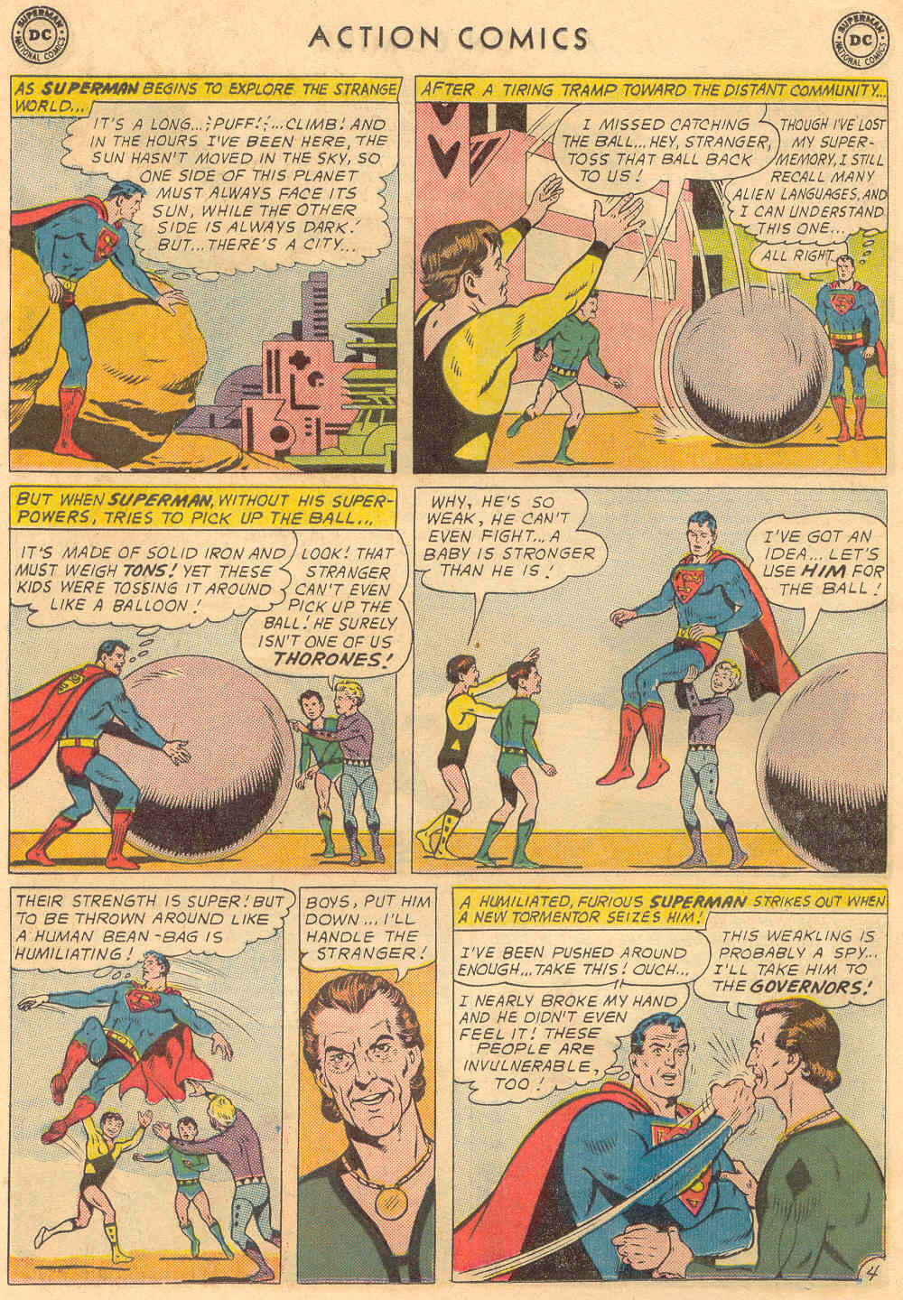 Read online Action Comics (1938) comic -  Issue #321 - 6