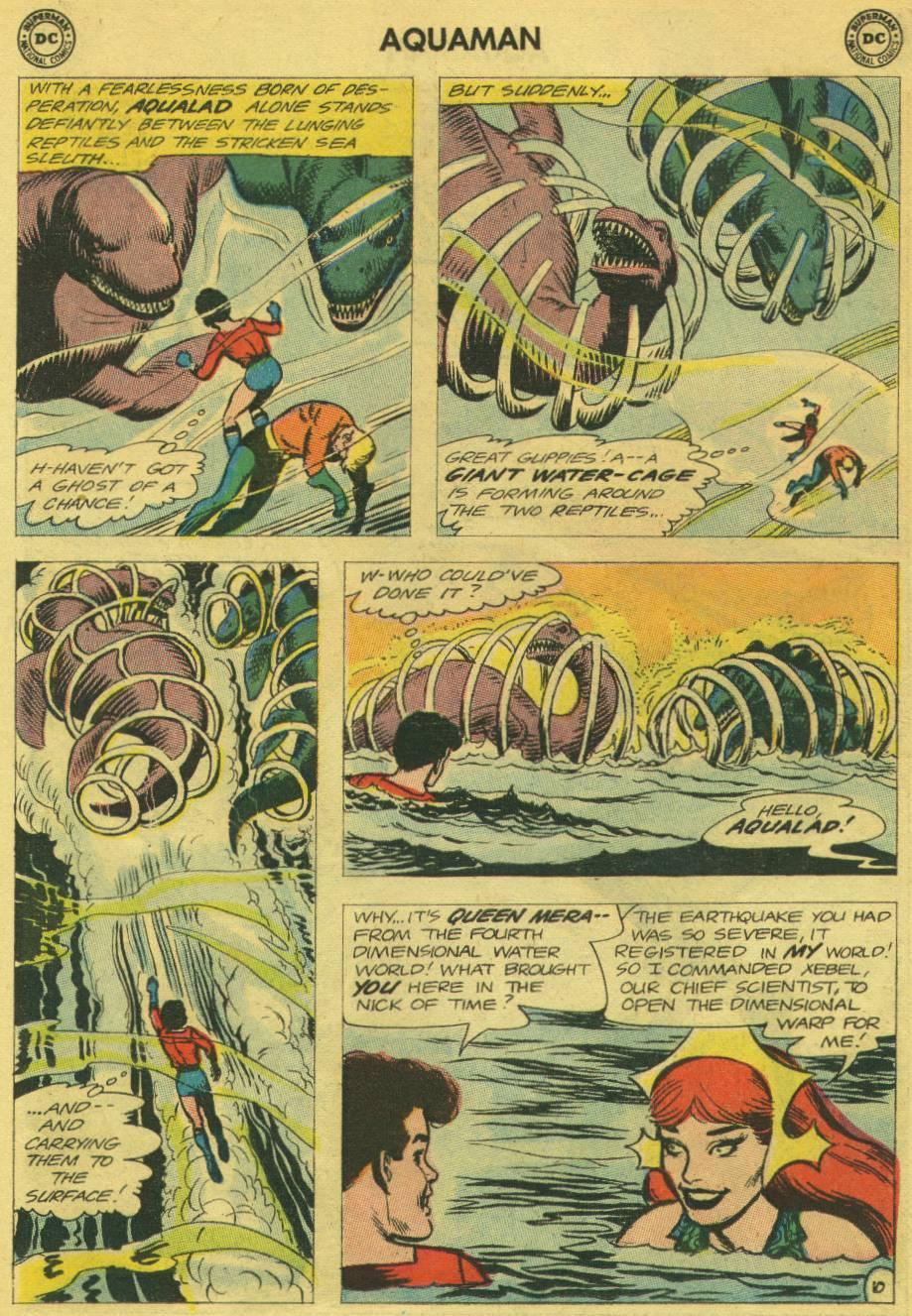 Read online Aquaman (1962) comic -  Issue #13 - 14