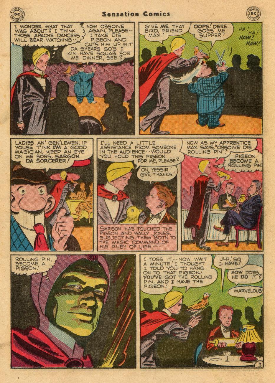 Read online Sensation (Mystery) Comics comic -  Issue #61 - 27