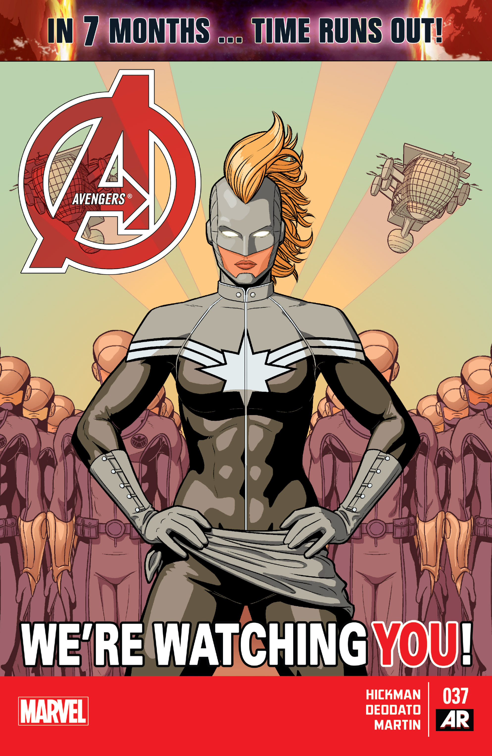 Read online Avengers (2013) comic -  Issue #37 - 1