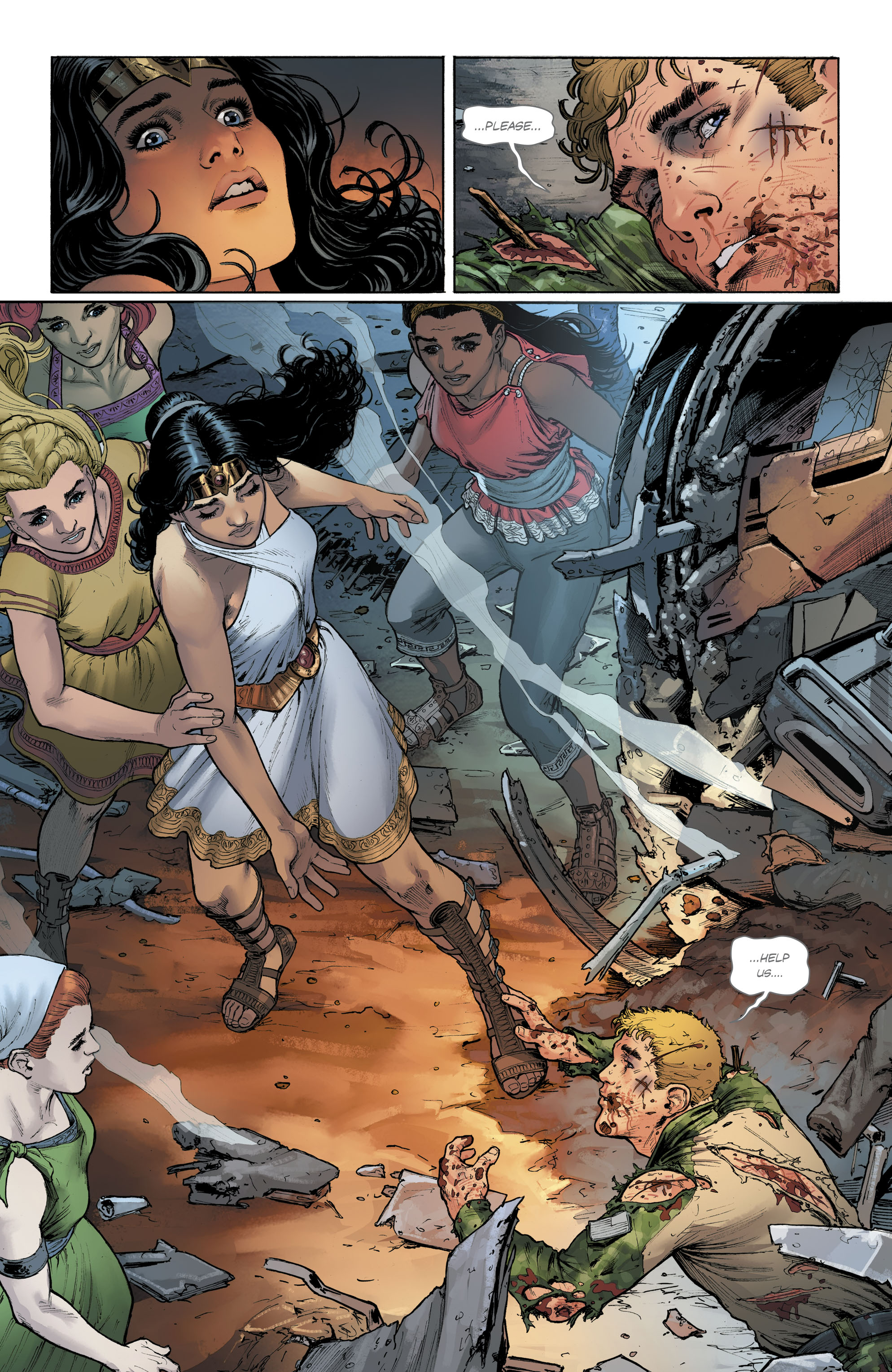 Read online Free Comic Book Day 2017 comic -  Issue # Wonder Woman - 20