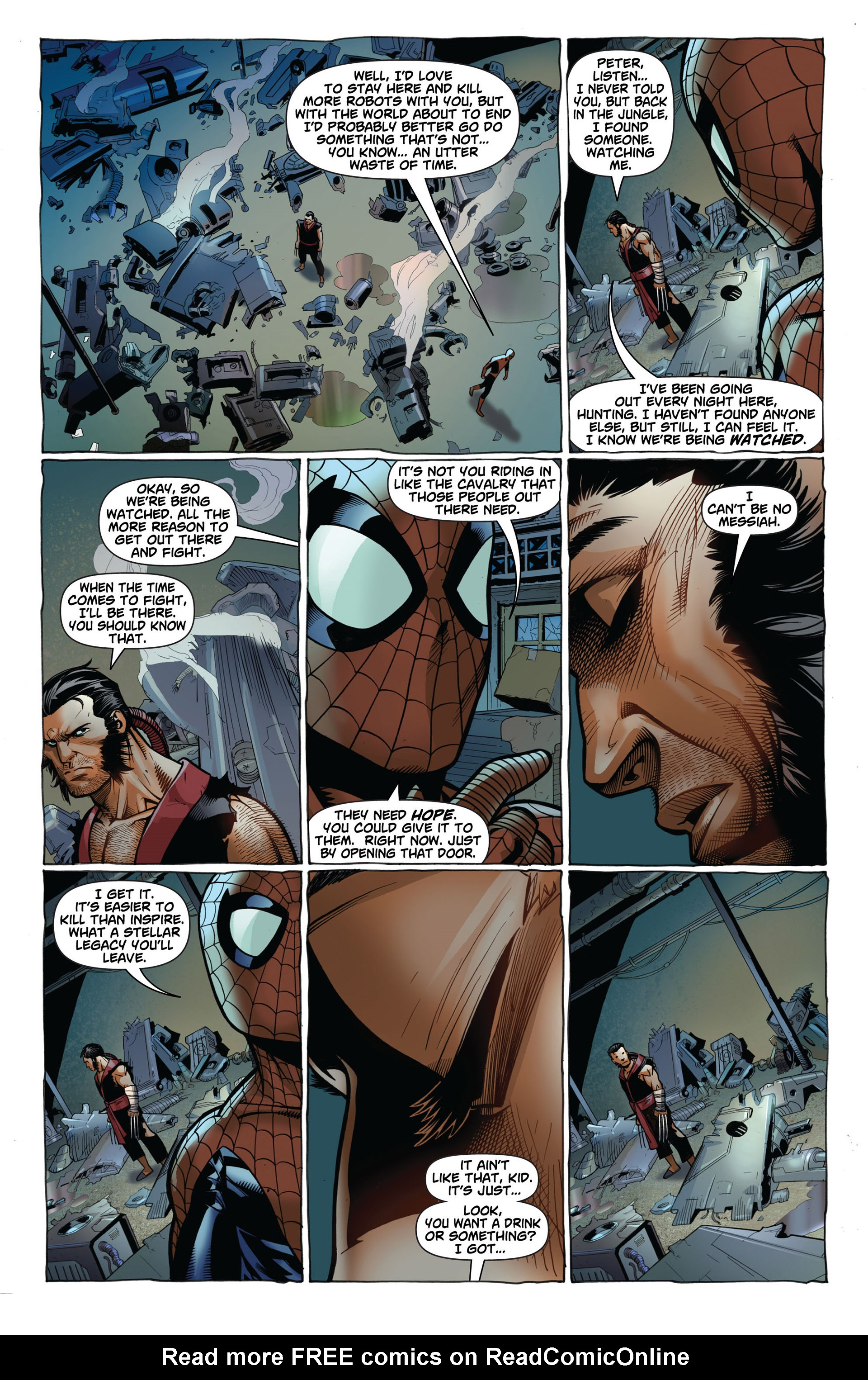 Read online Astonishing Spider-Man & Wolverine comic -  Issue #2 - 11