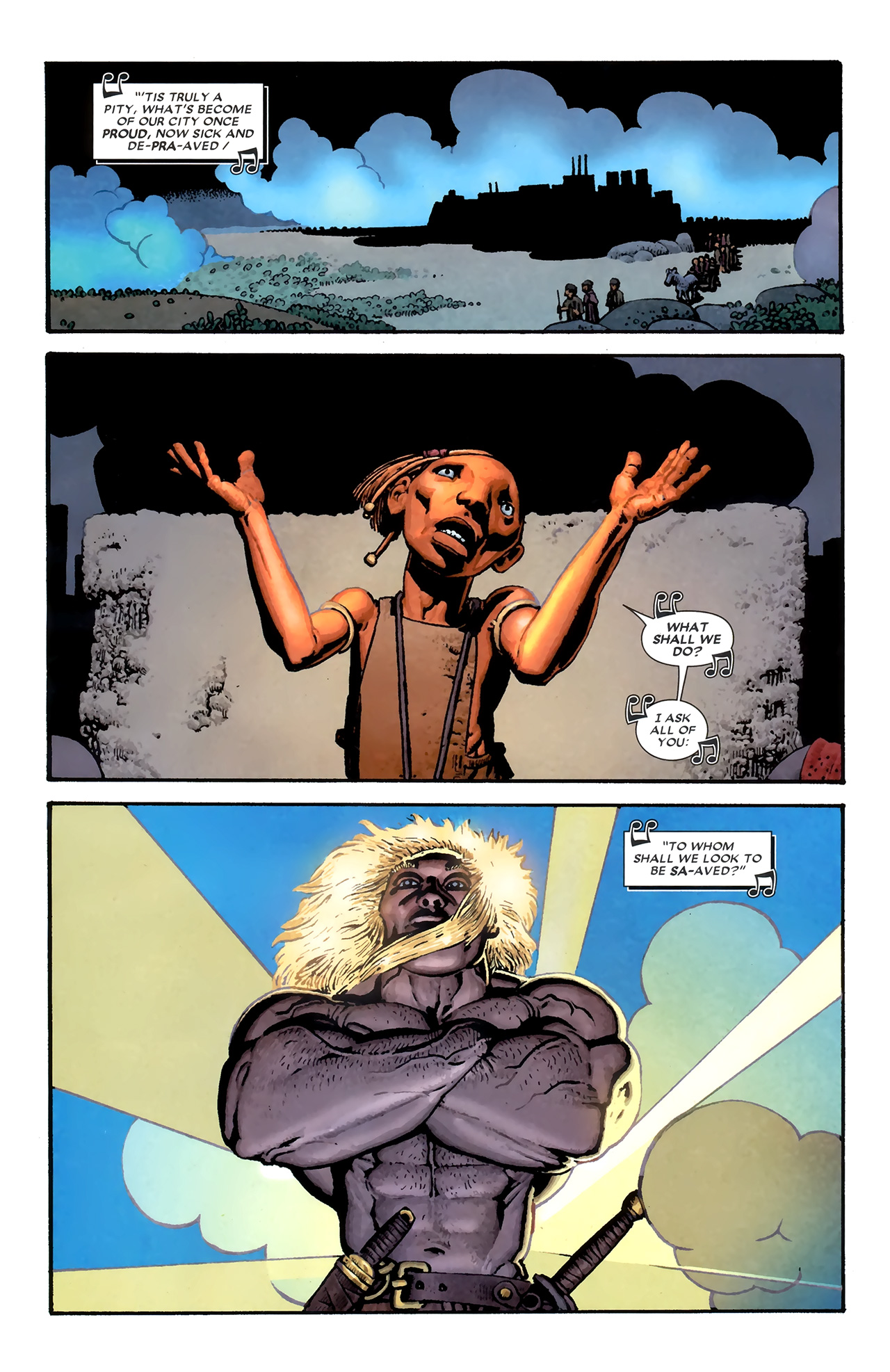 Read online Starr the Slayer comic -  Issue #3 - 12
