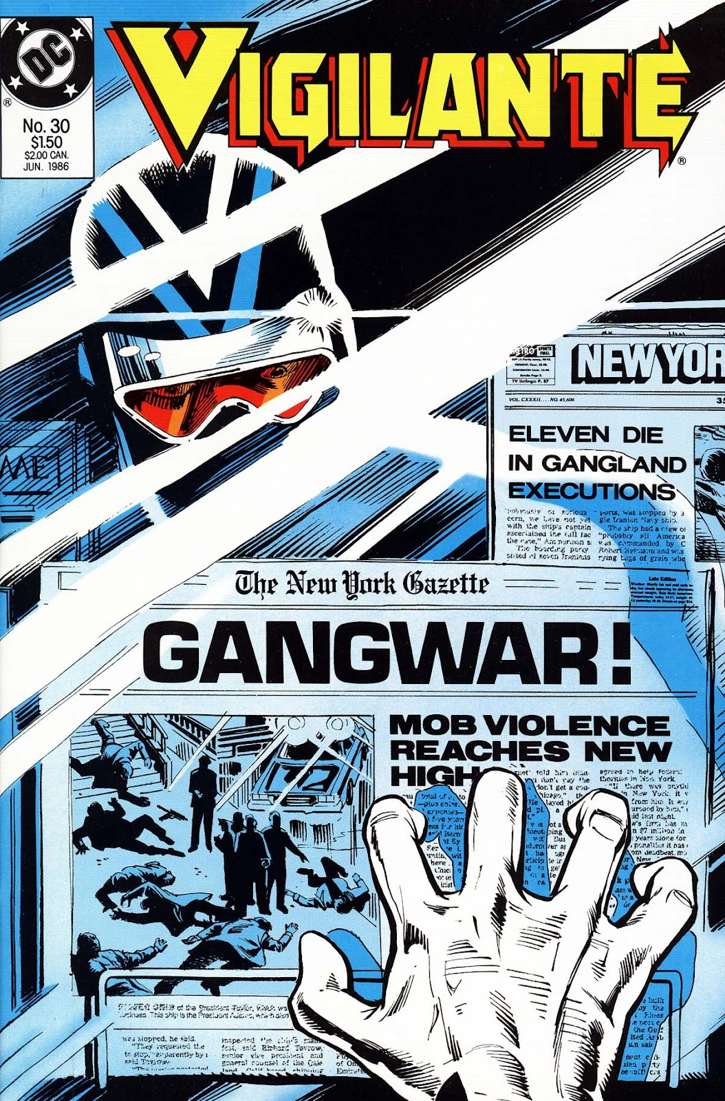 Vigilante (1983) issue 30 - Page 1