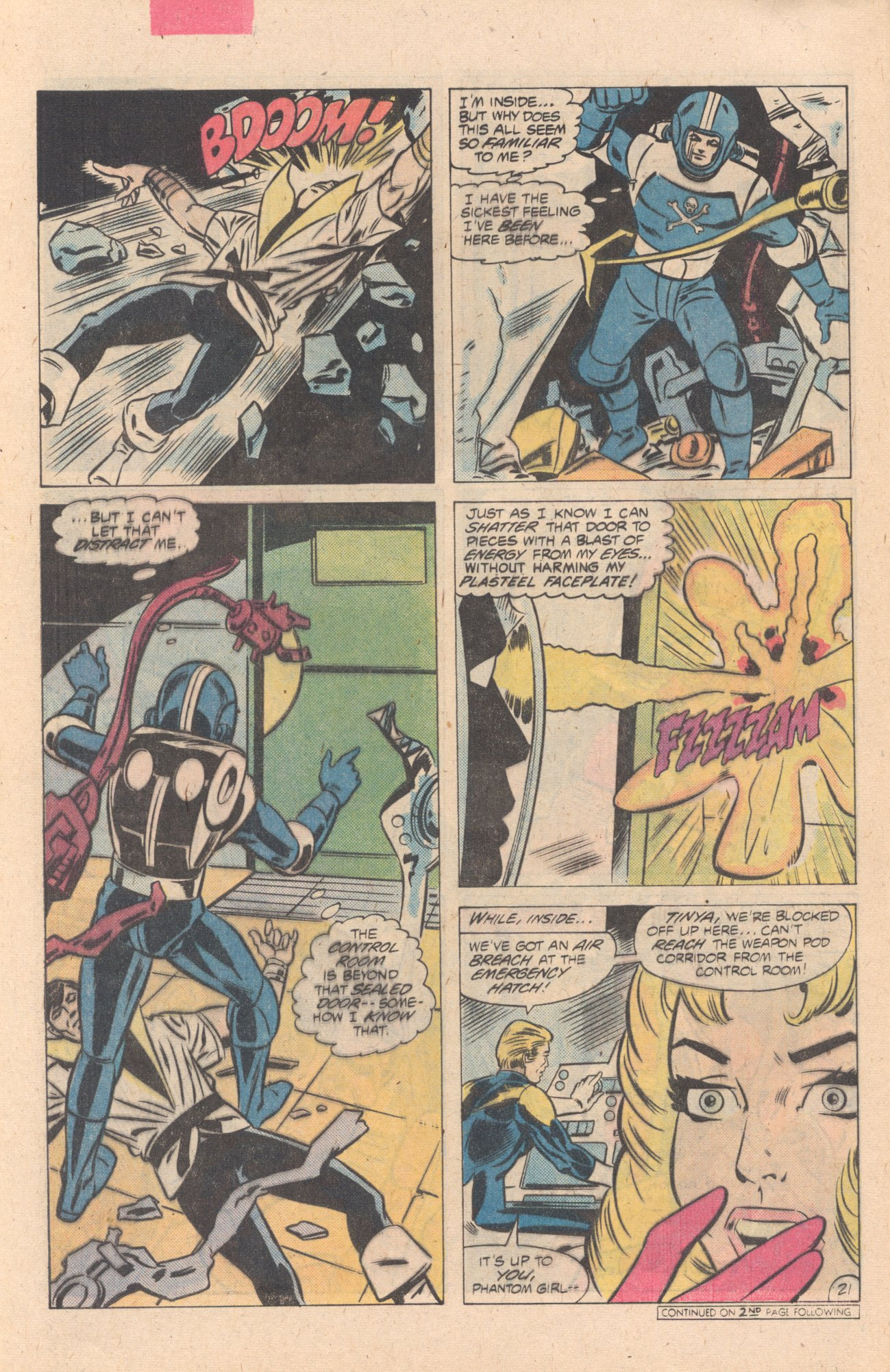 Legion of Super-Heroes (1980) 274 Page 21