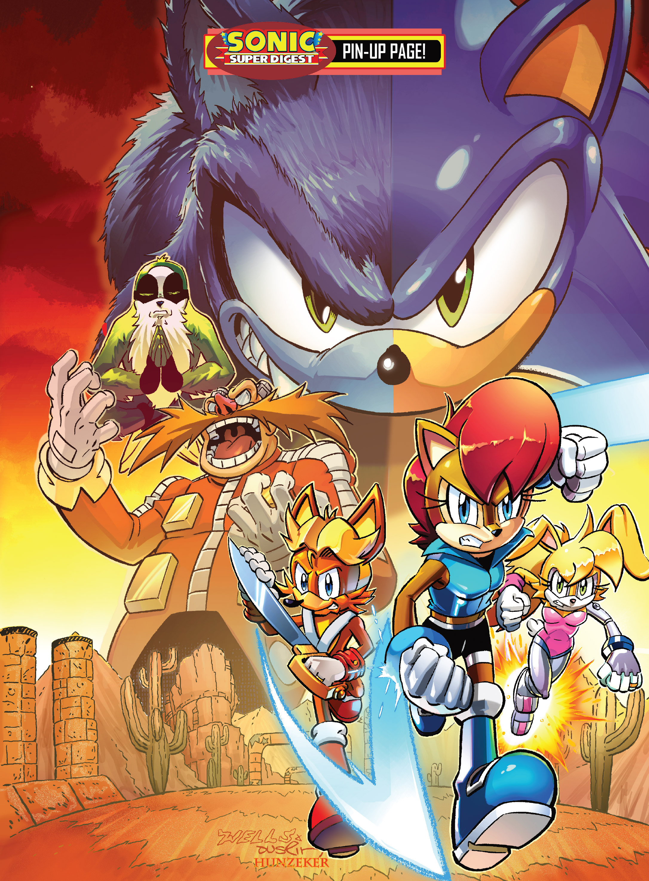 Read online Sonic Super Digest comic -  Issue #10 - 114