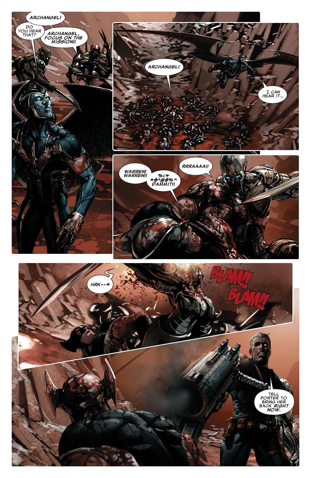 Read online X-Force/Cable: Messiah War comic -  Issue # _TPB (Part 2) - 24