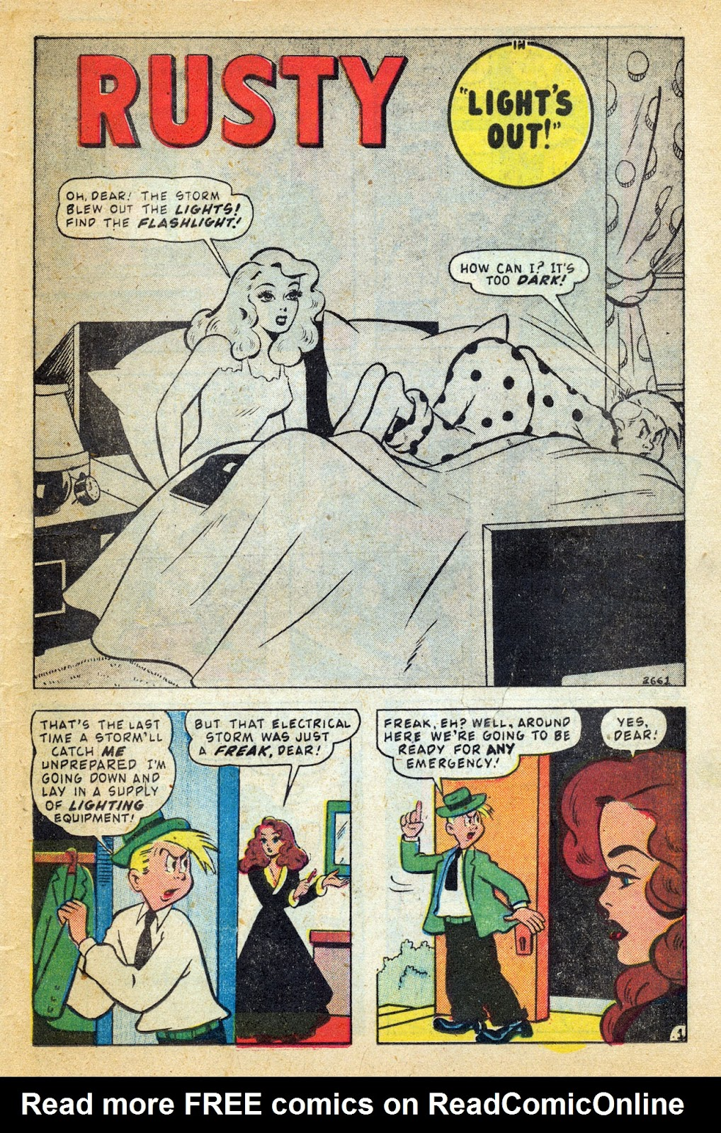 Read online Millie the Model comic -  Issue #14 - 35