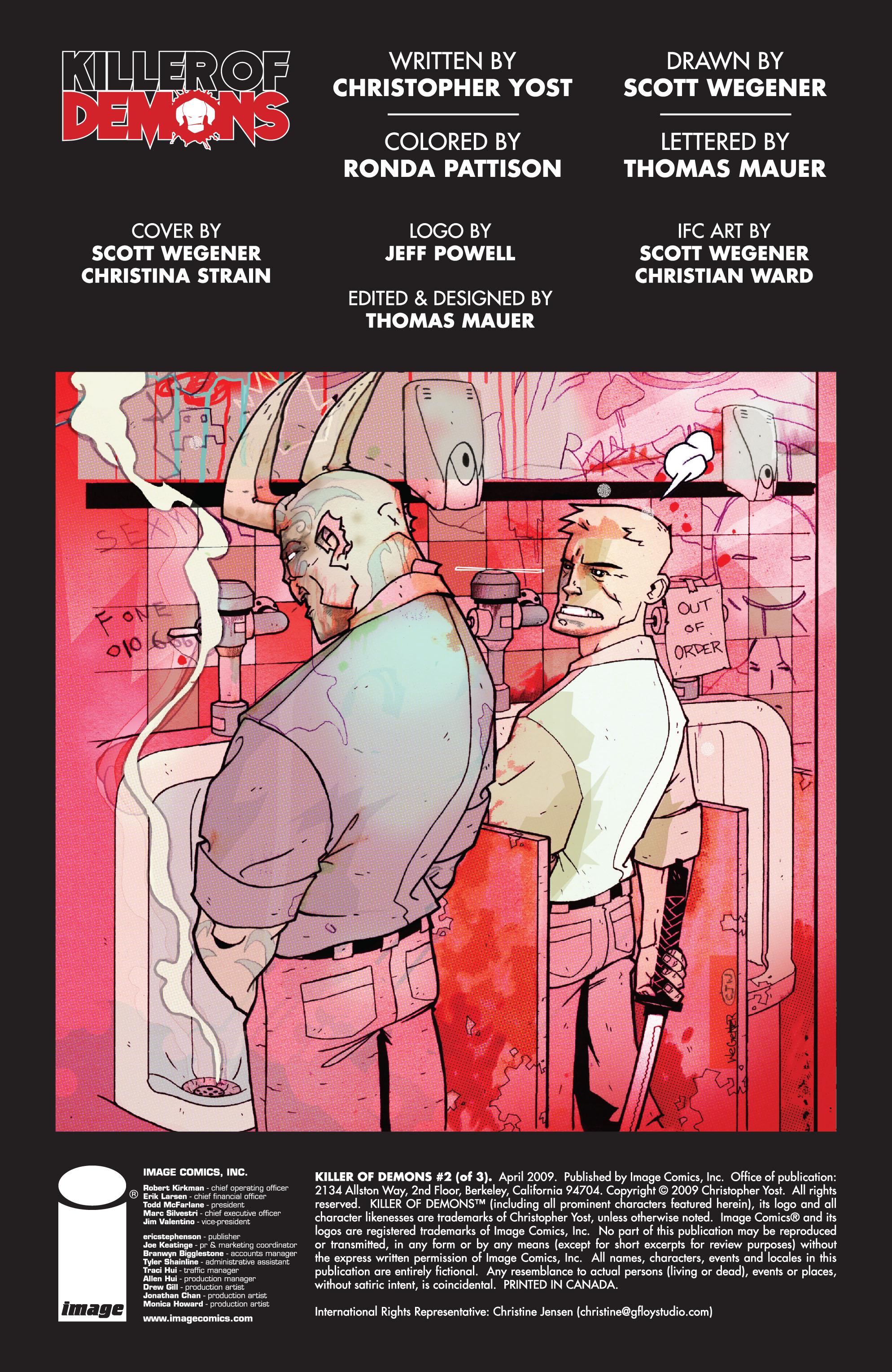 Read online Killer Of Demons comic -  Issue #2 - 2
