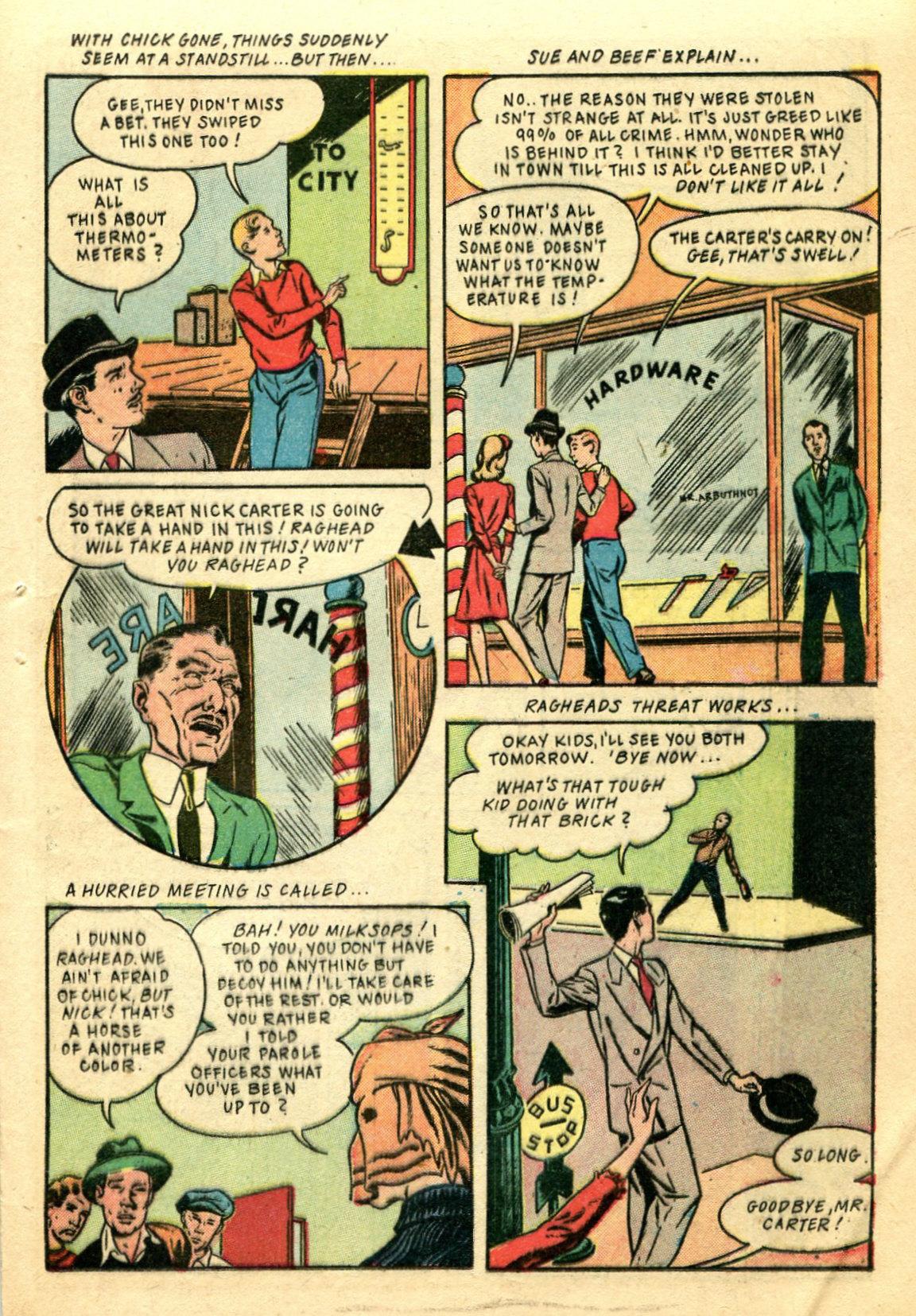 Read online Shadow Comics comic -  Issue #44 - 42