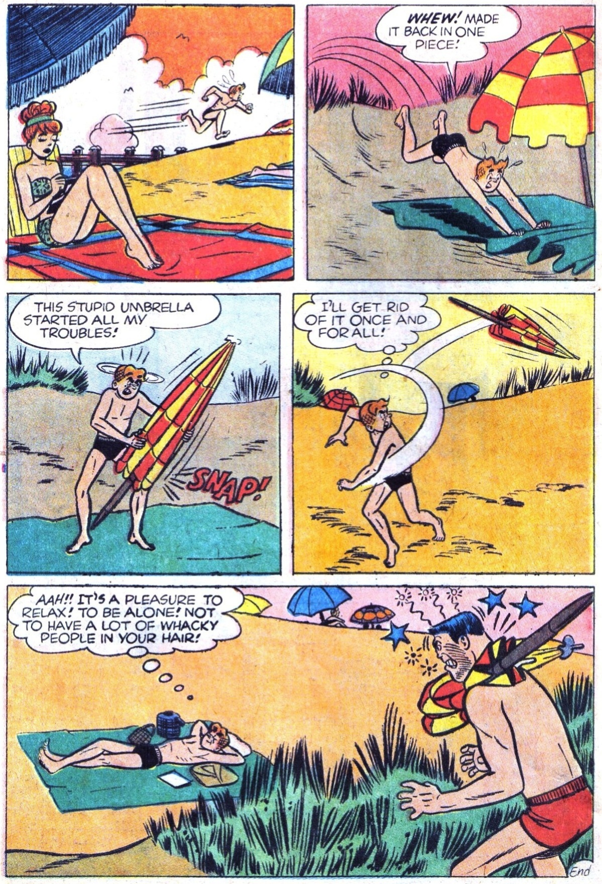 Read online Archie (1960) comic -  Issue #158 - 18