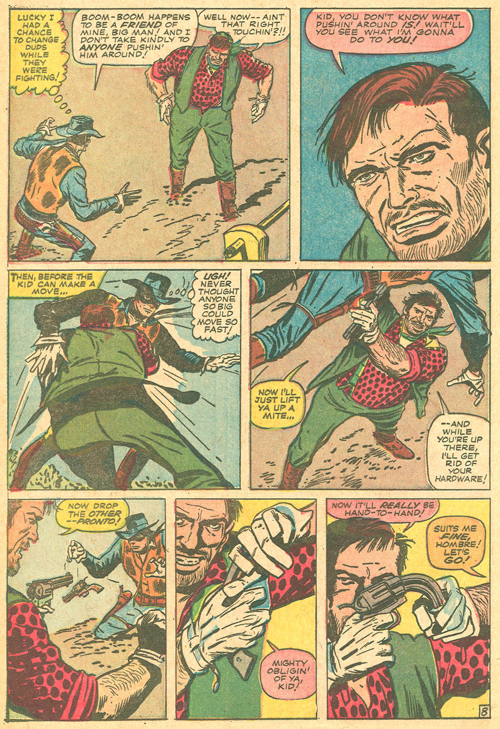 Read online Two-Gun Kid comic -  Issue #69 - 12
