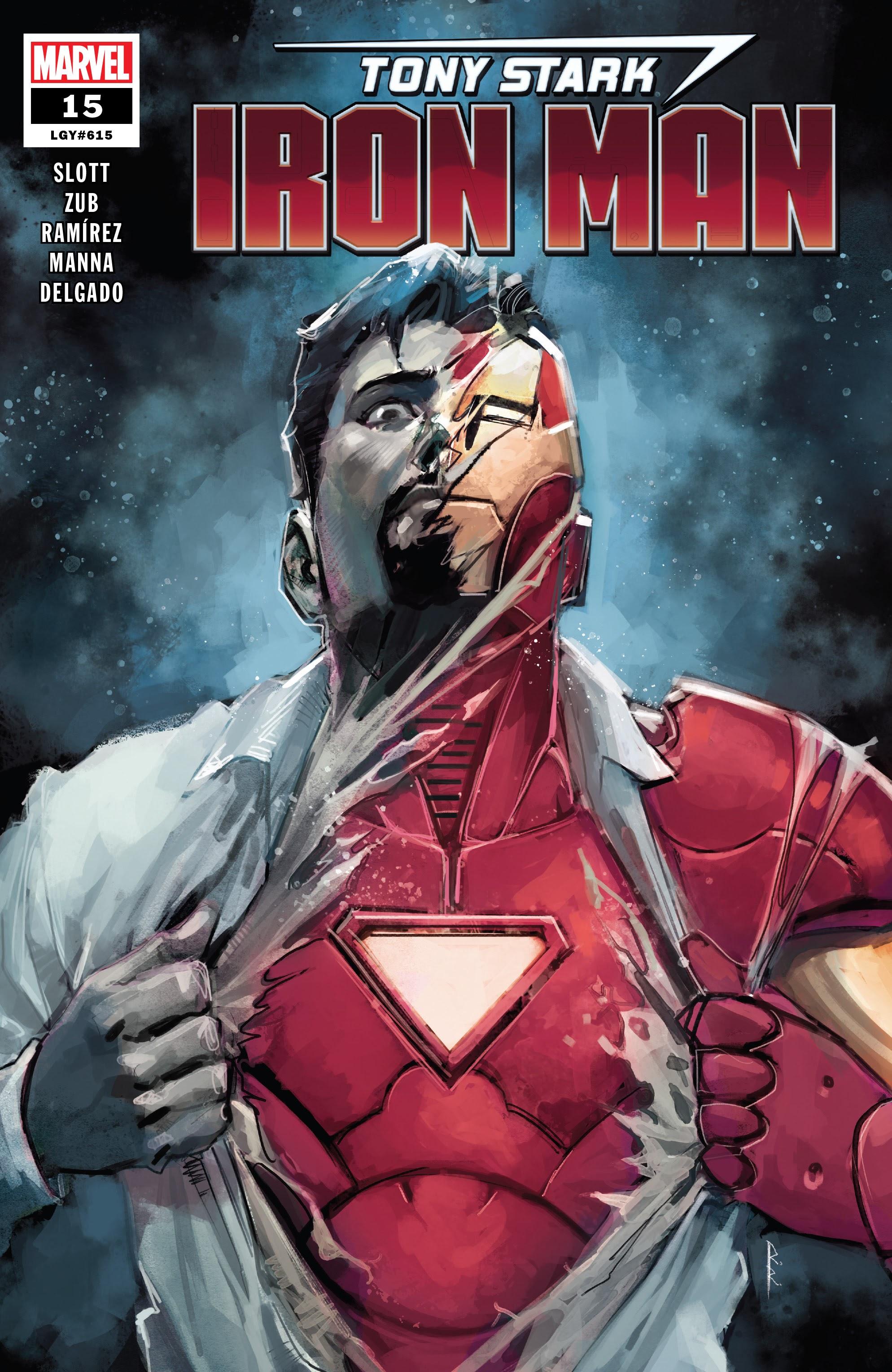 Tony Stark: Iron Man 15 Page 1