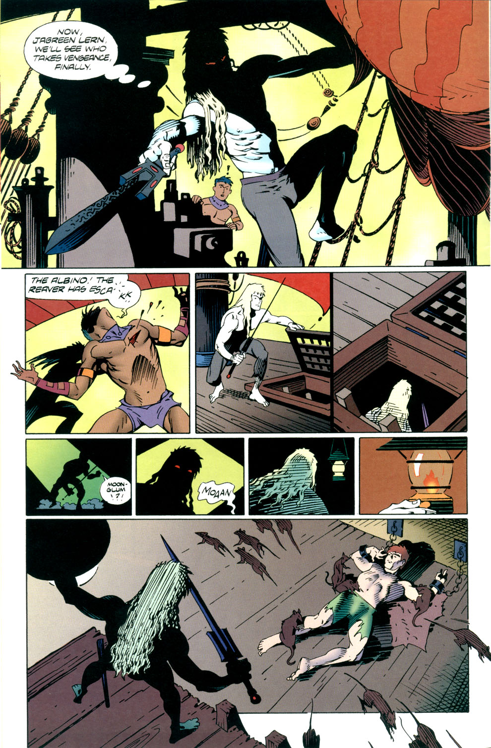Read online Elric: Stormbringer comic -  Issue #4 - 6