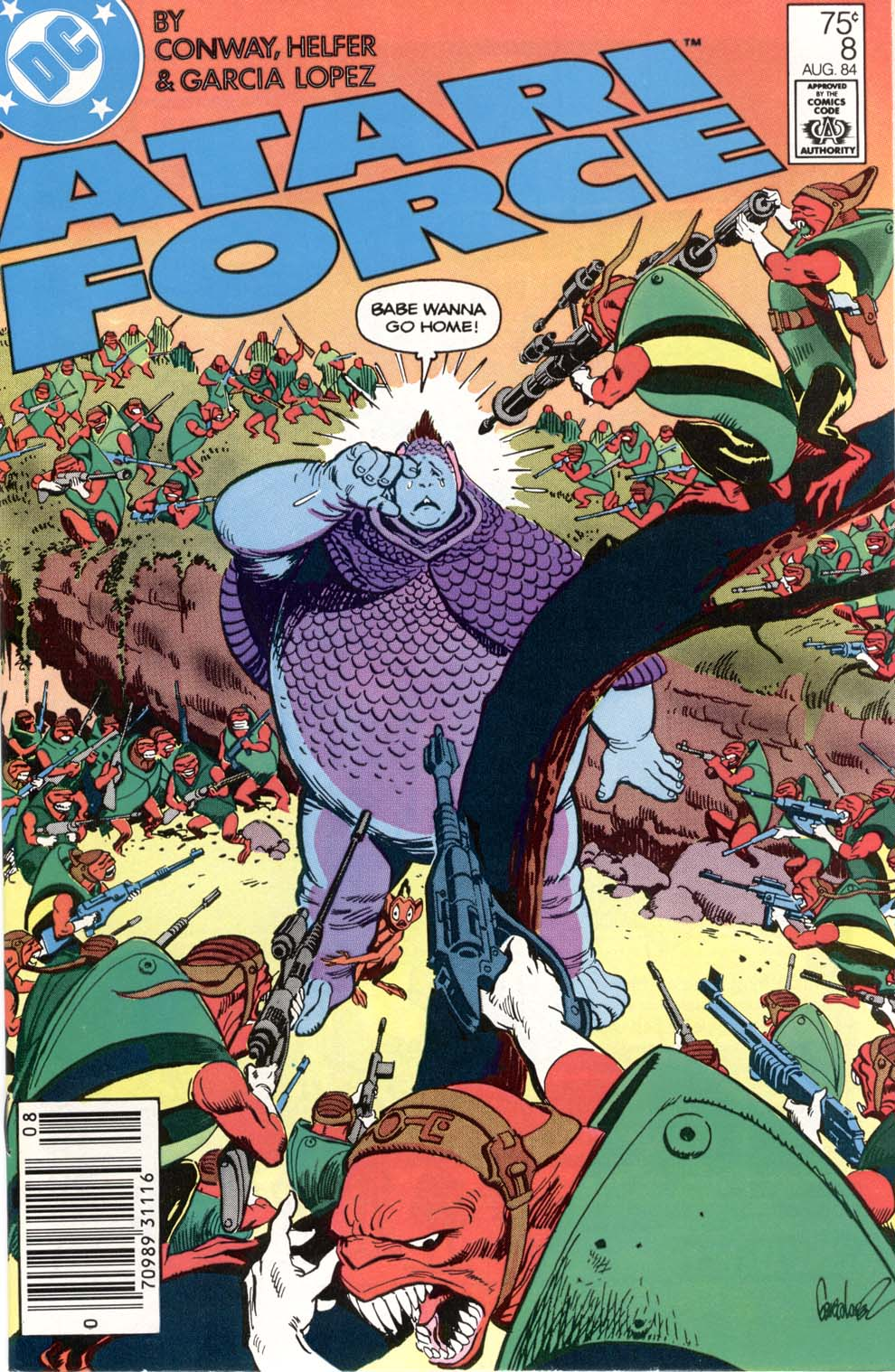 Read online Atari Force (1984) comic -  Issue #8 - 1