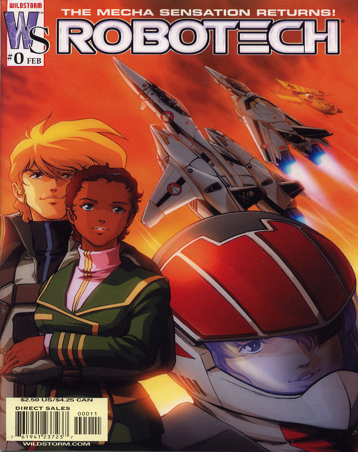 Robotech (2003) issue 0 - Page 1
