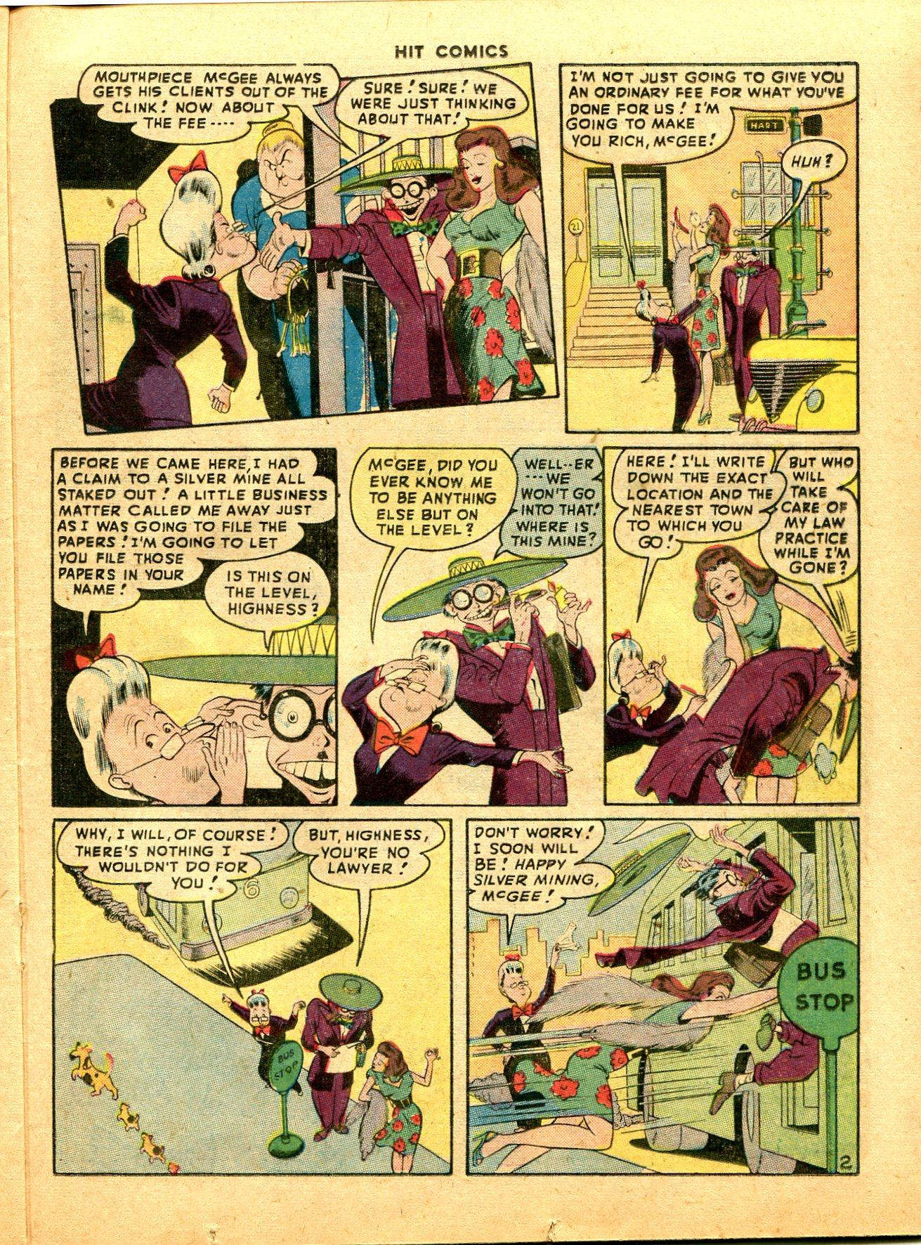 Read online Hit Comics comic -  Issue #49 - 33