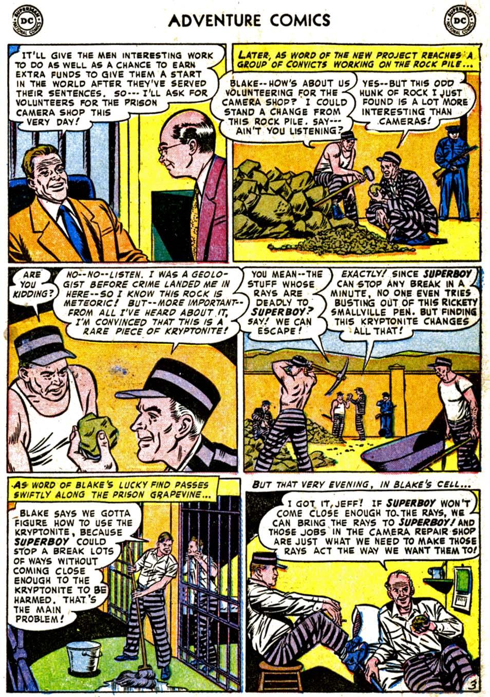 Read online Adventure Comics (1938) comic -  Issue #184 - 5