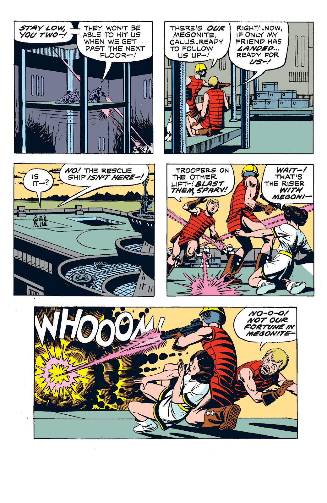 Read online Star Wars Legends: The Newspaper Strips - Epic Collection comic -  Issue # TPB (Part 2) - 70
