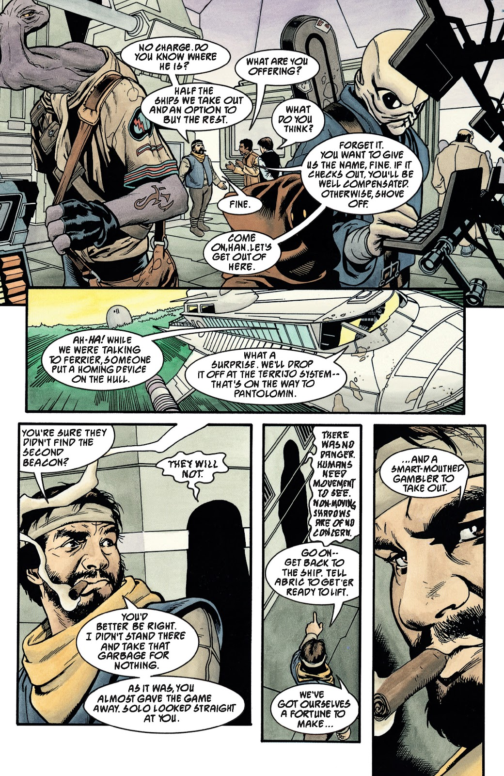 Read online Star Wars Legends: The New Republic - Epic Collection comic -  Issue # TPB 4 (Part 3) - 35