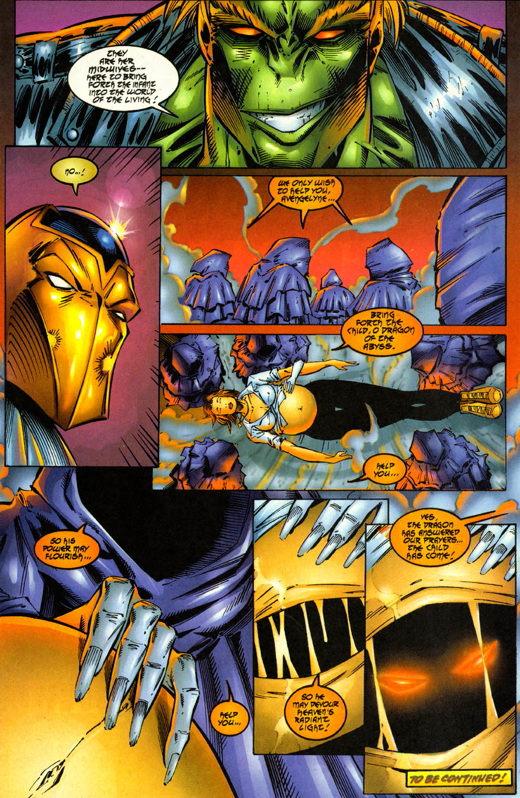 Read online Avengelyne (1996) comic -  Issue #2 - 21
