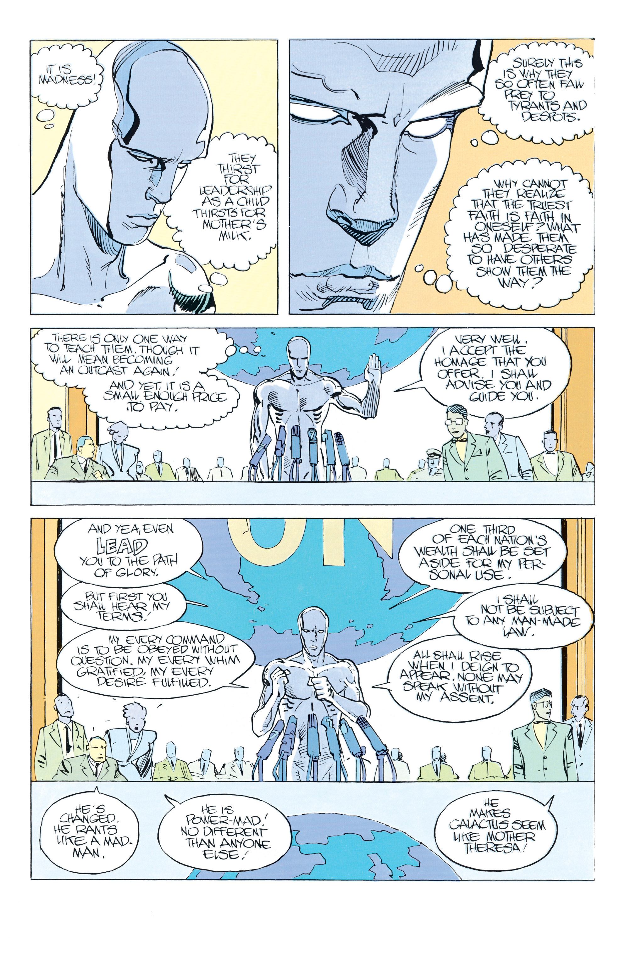 Read online Silver Surfer: Parable comic -  Issue # TPB - 52