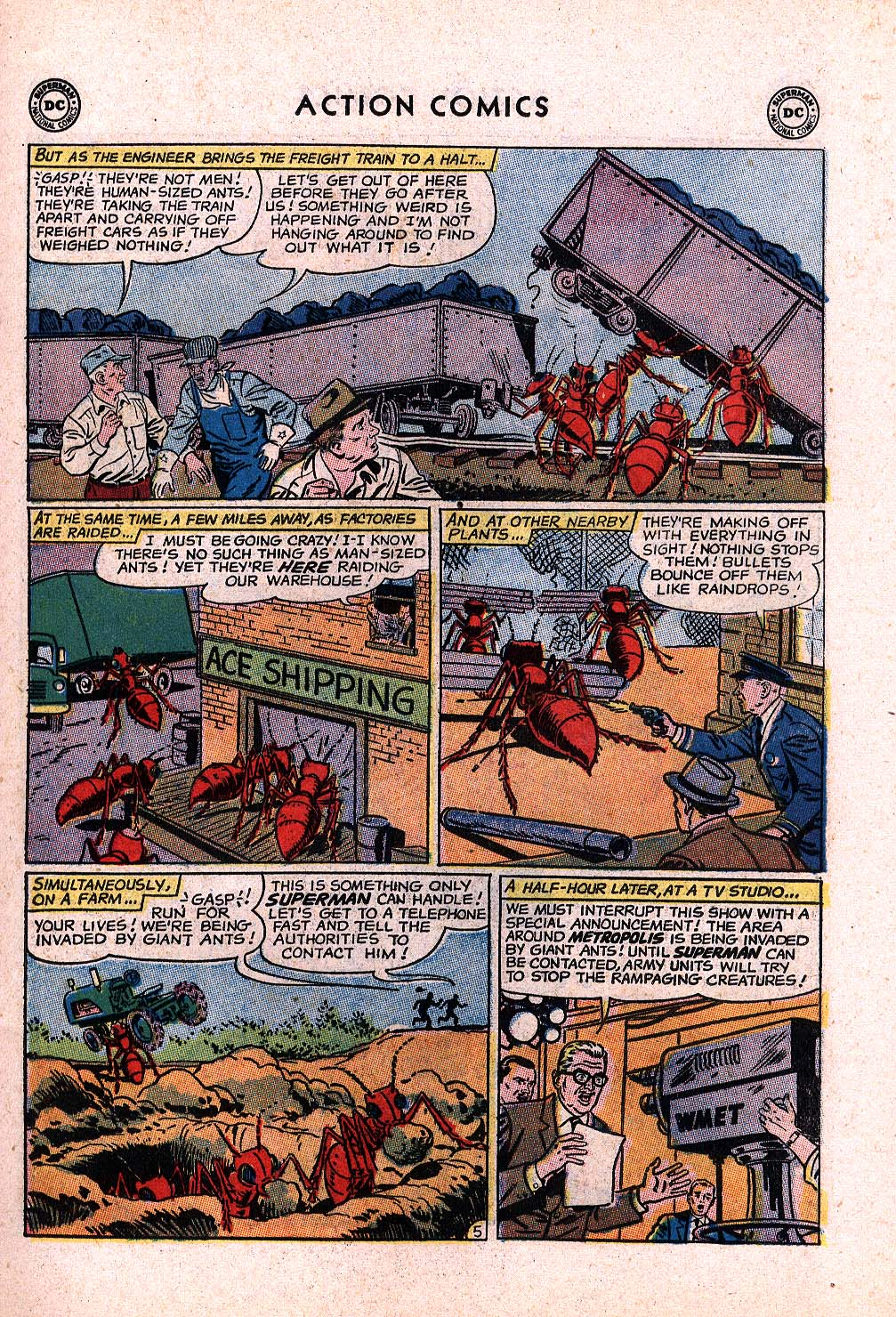 Read online Action Comics (1938) comic -  Issue #296 - 7
