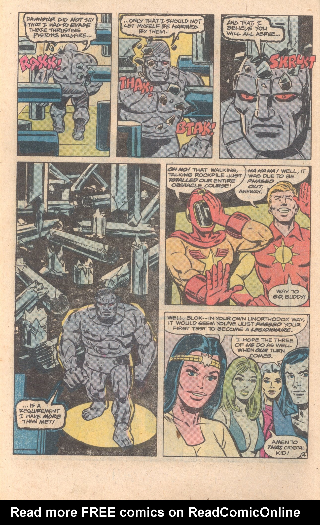 Legion of Super-Heroes (1980) 272 Page 4