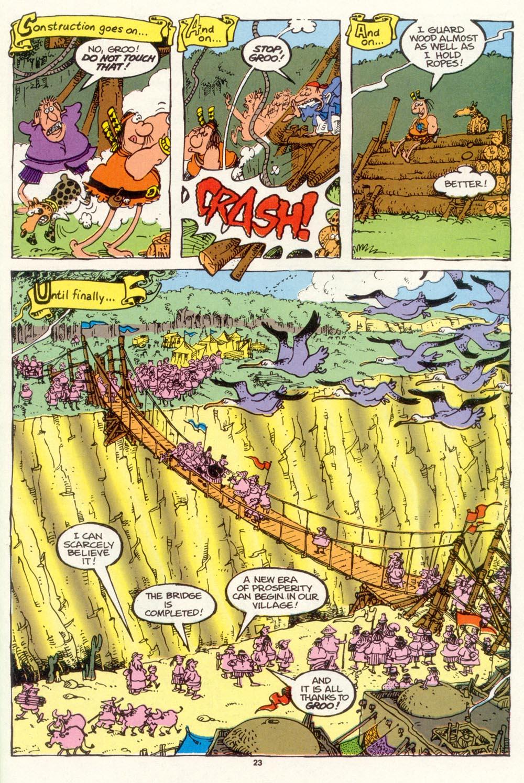 Read online Sergio Aragonés Groo the Wanderer comic -  Issue #102 - 25