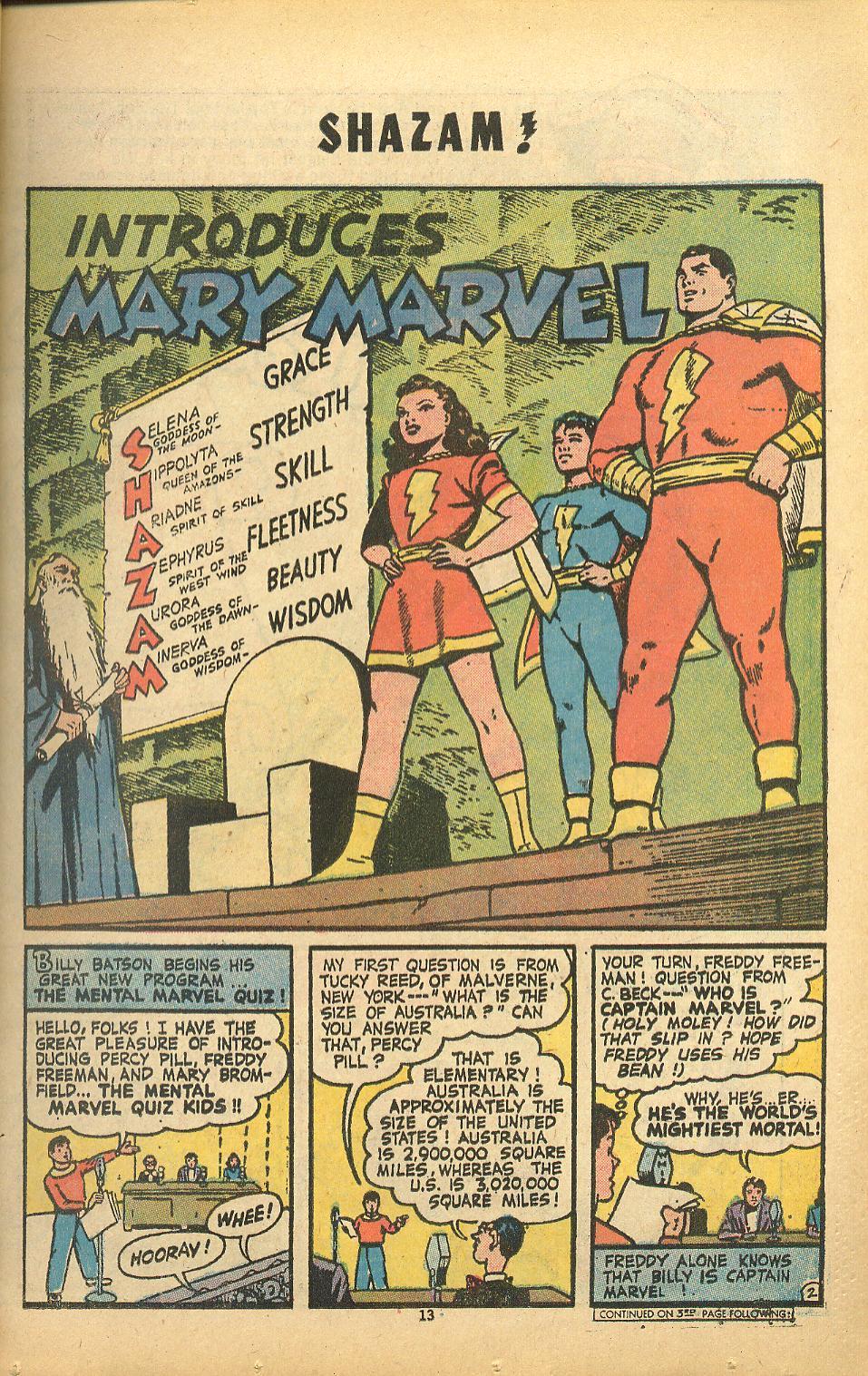 Read online Shazam! (1973) comic -  Issue #8 - 13