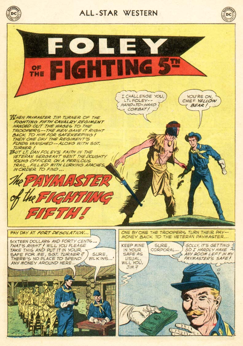 Read online All-Star Western (1951) comic -  Issue #97 - 15