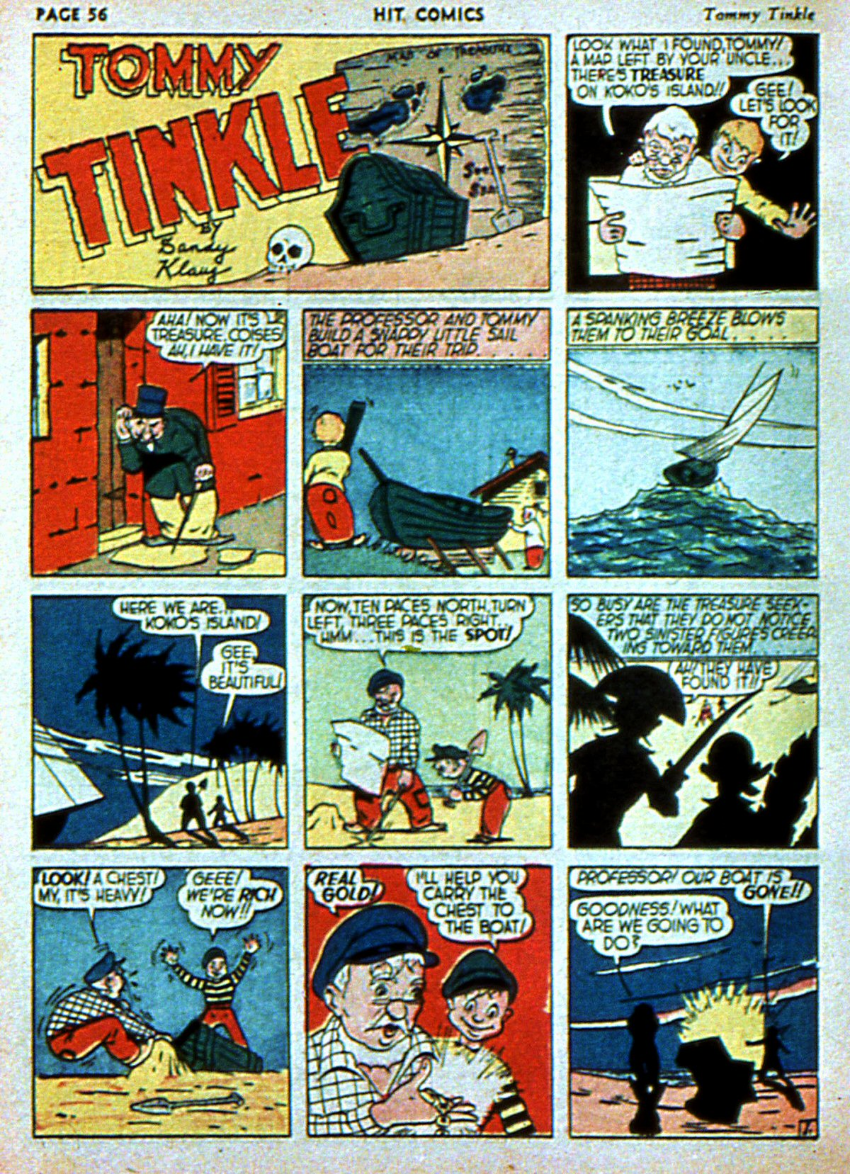 Read online Hit Comics comic -  Issue #3 - 58
