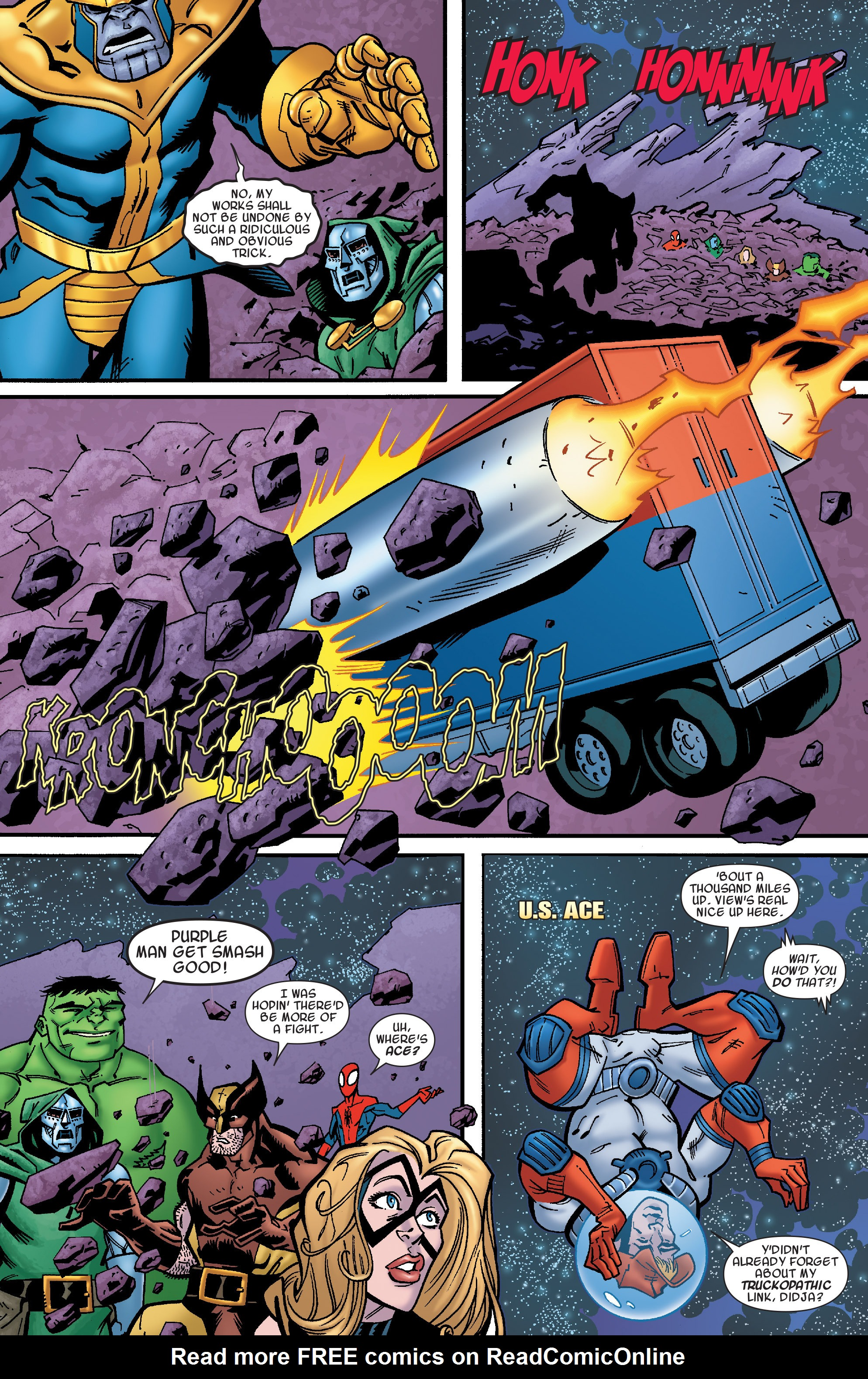 Read online Avengers & the Infinity Gauntlet comic -  Issue #4 - 6