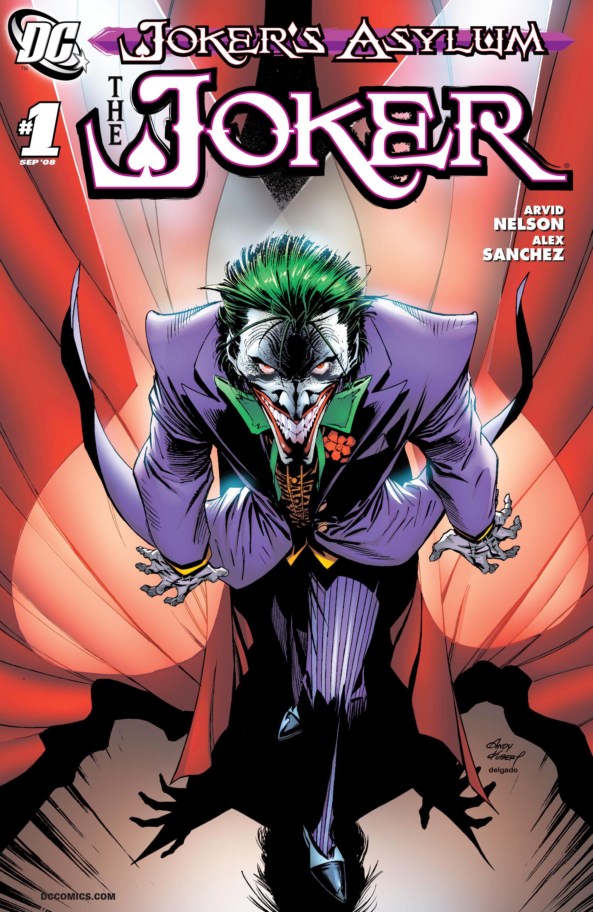 Jokers Asylum: The Joker Full Page 1