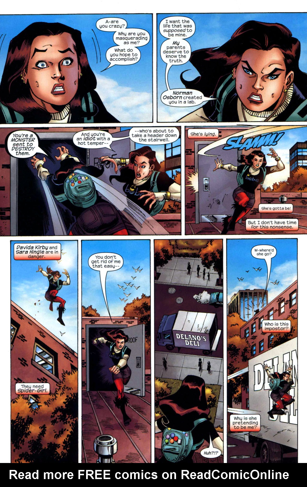 Read online Amazing Spider-Girl comic -  Issue #24 - 3