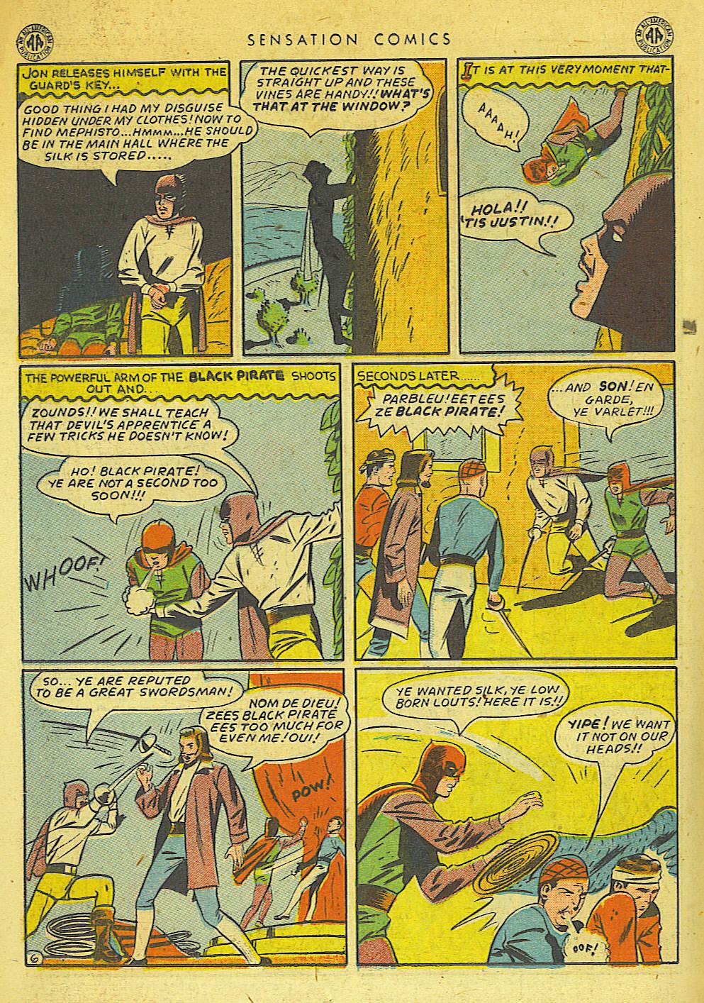 Read online Sensation (Mystery) Comics comic -  Issue #42 - 30