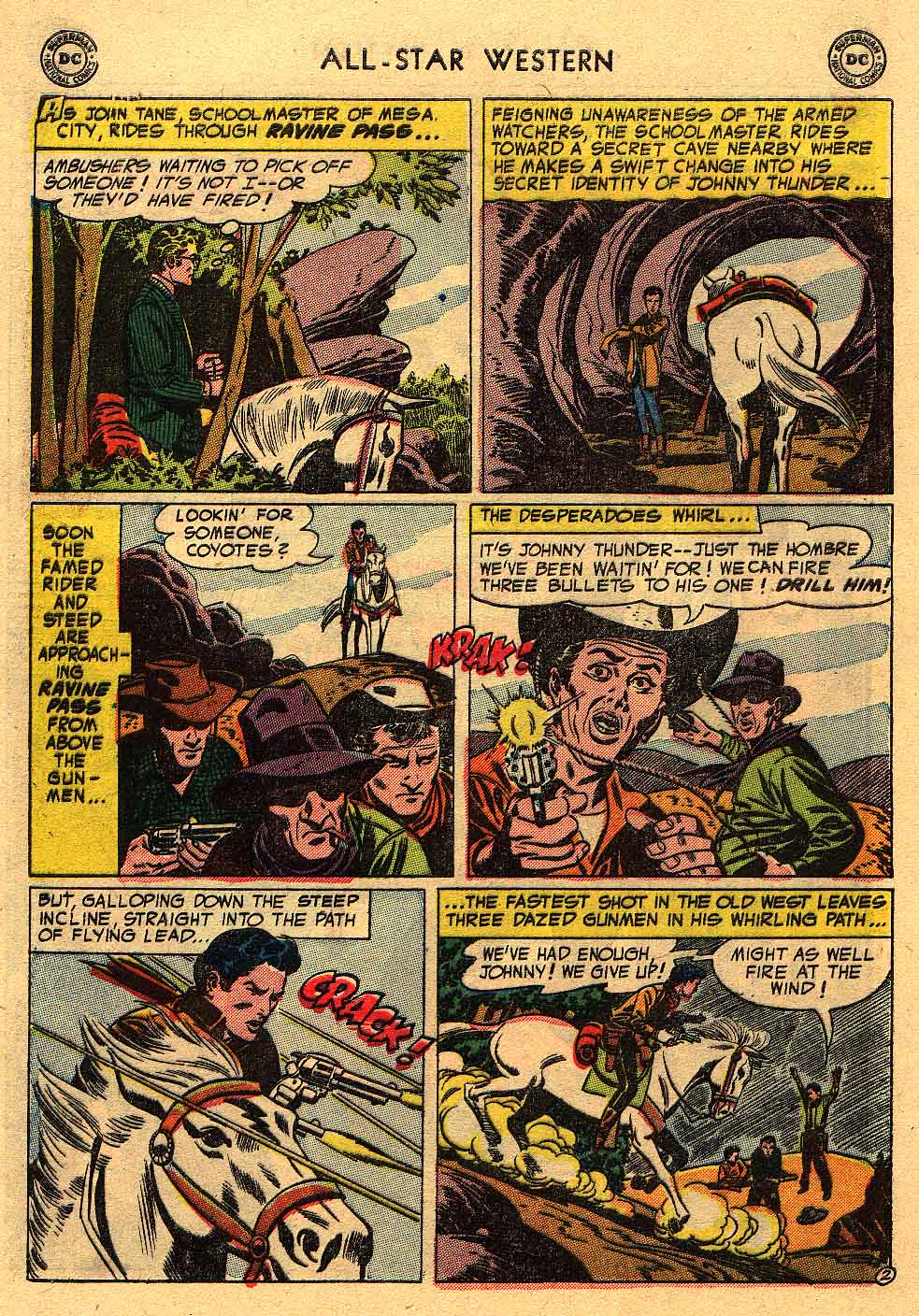 Read online All-Star Western (1951) comic -  Issue #80 - 28