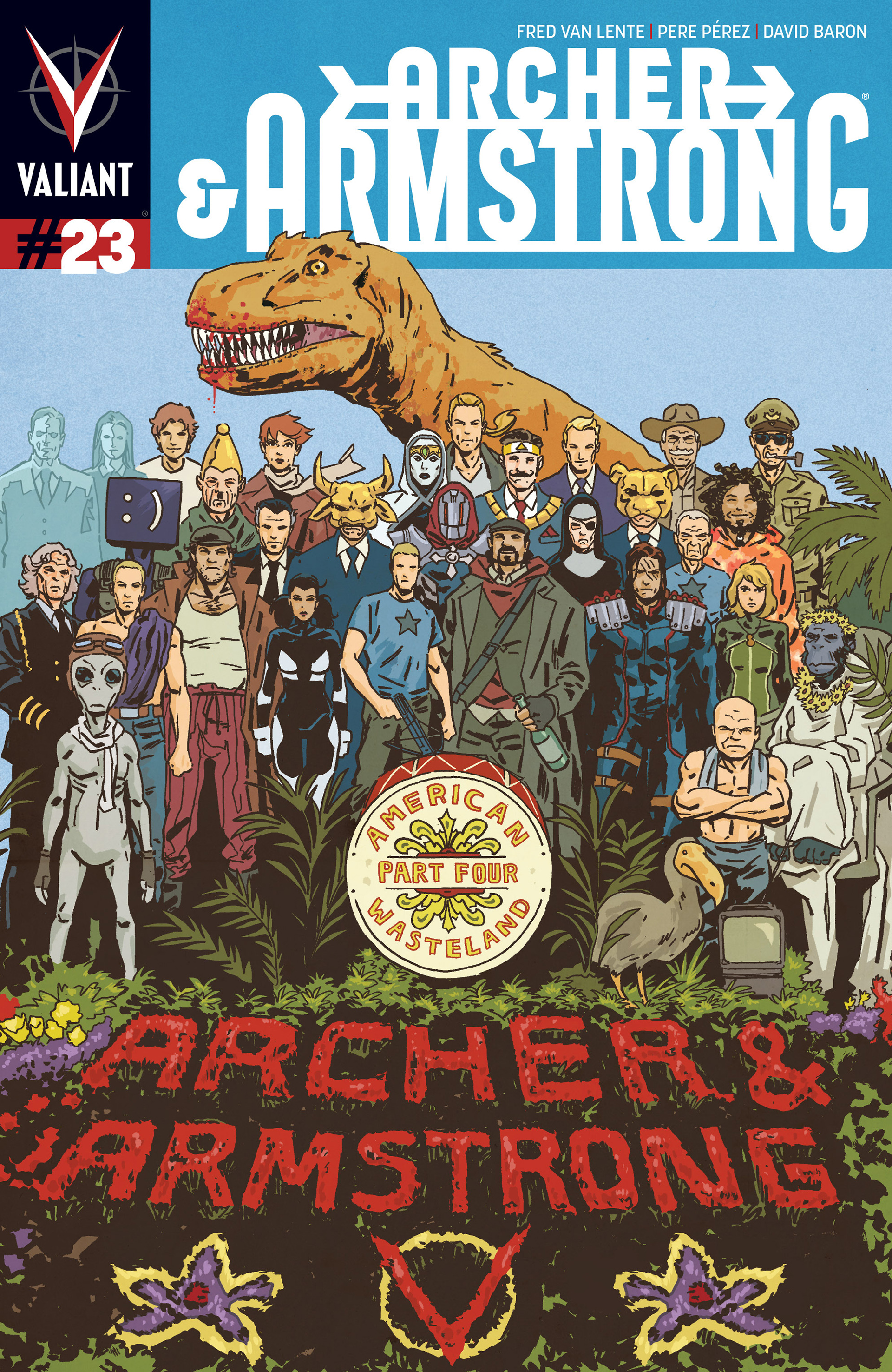 Read online Archer and Armstrong comic -  Issue #23 - 1
