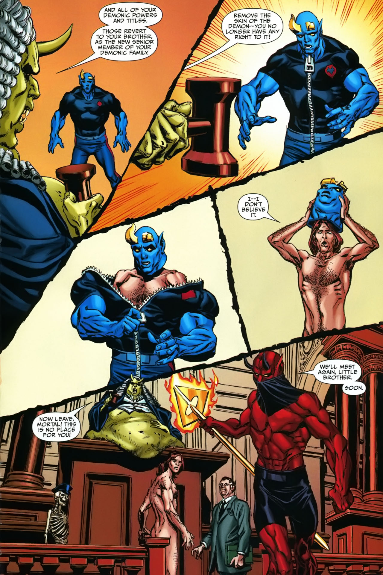 Read online Shadowpact comic -  Issue #23 - 19